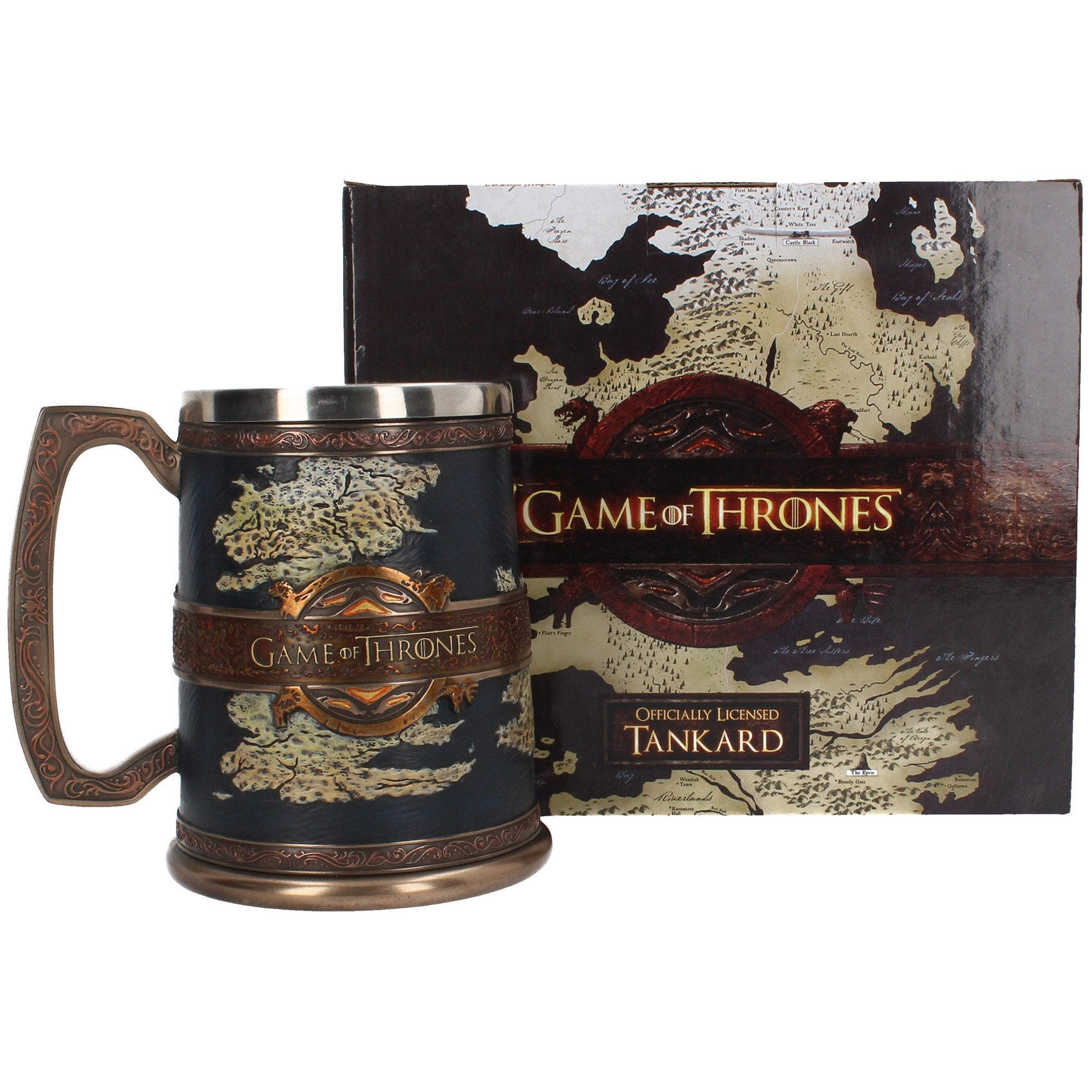 Image of Game of Thrones The Seven Kingdoms Tankard