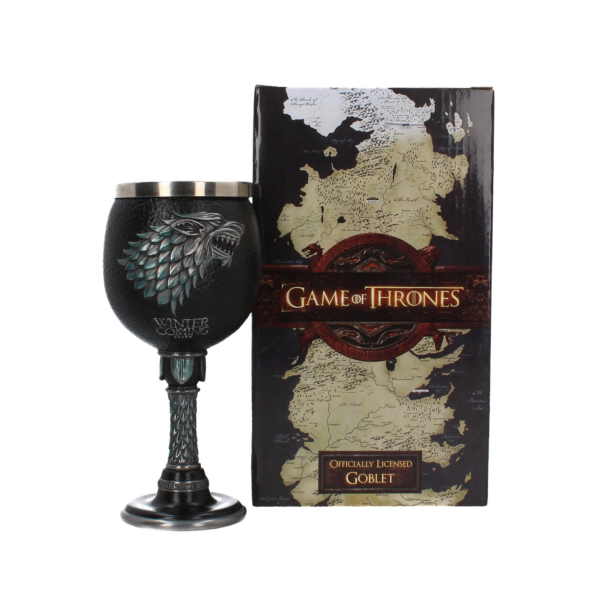 Image of Game of Thrones Winter is Coming Goblet