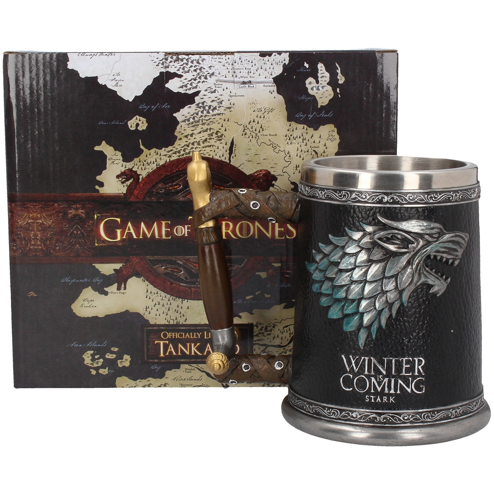 Image of Game of Thrones Winter is Coming Tankard