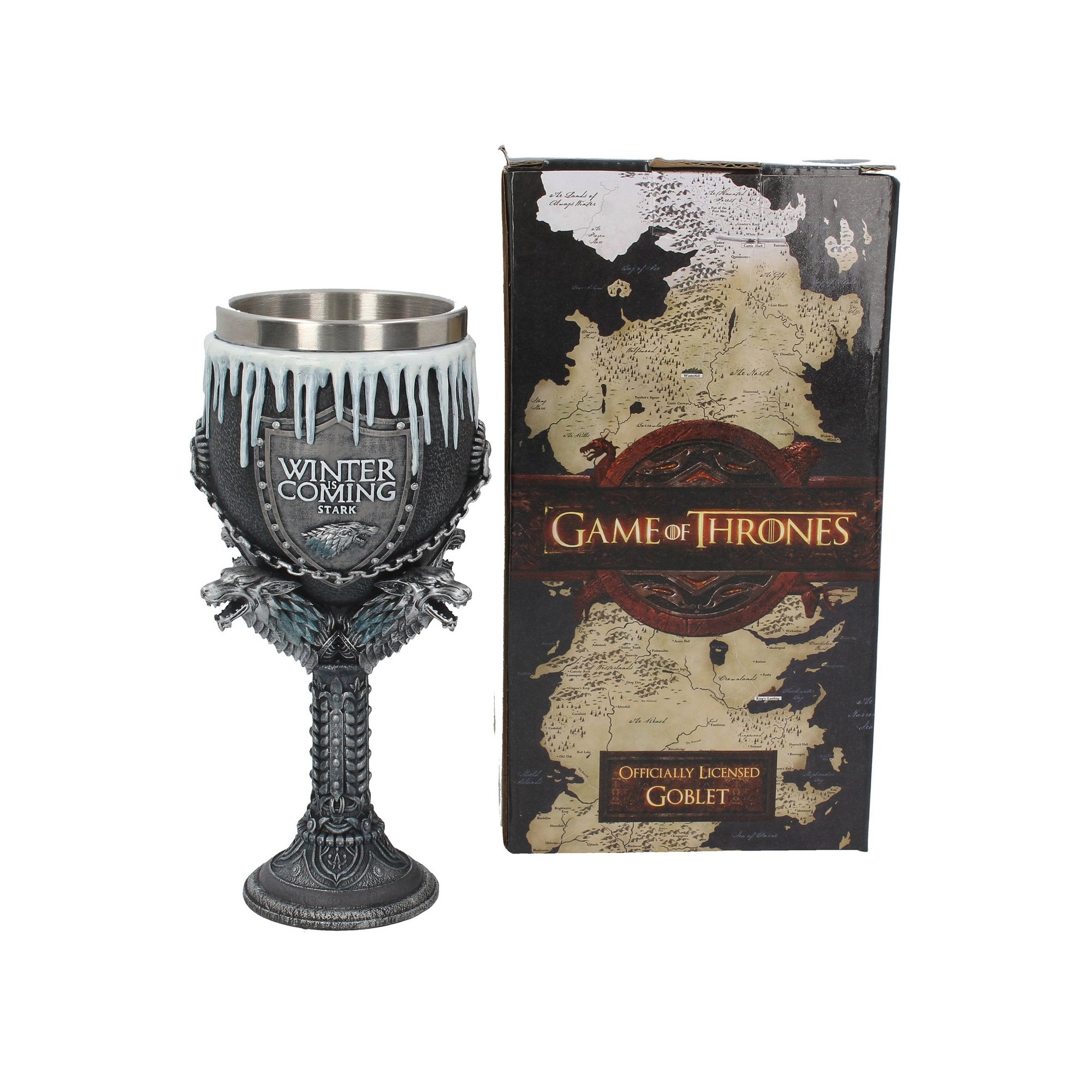 Image of Game of Thrones House Stark Goblet
