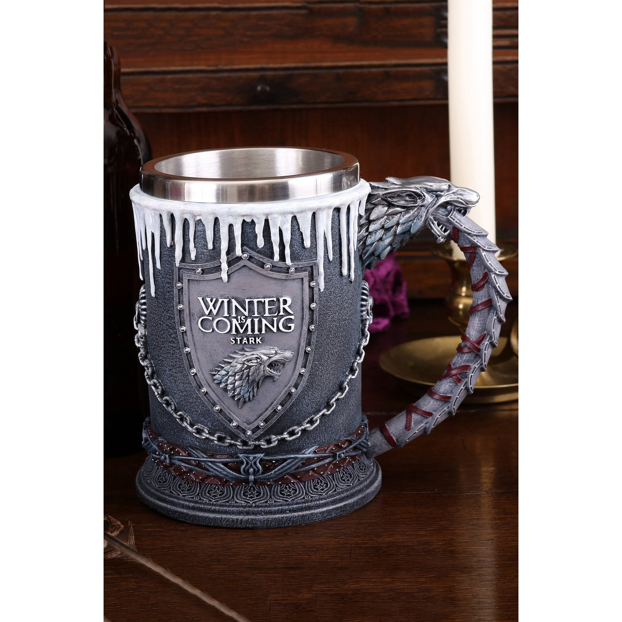 Image of Game of Thrones House Stark Tankard