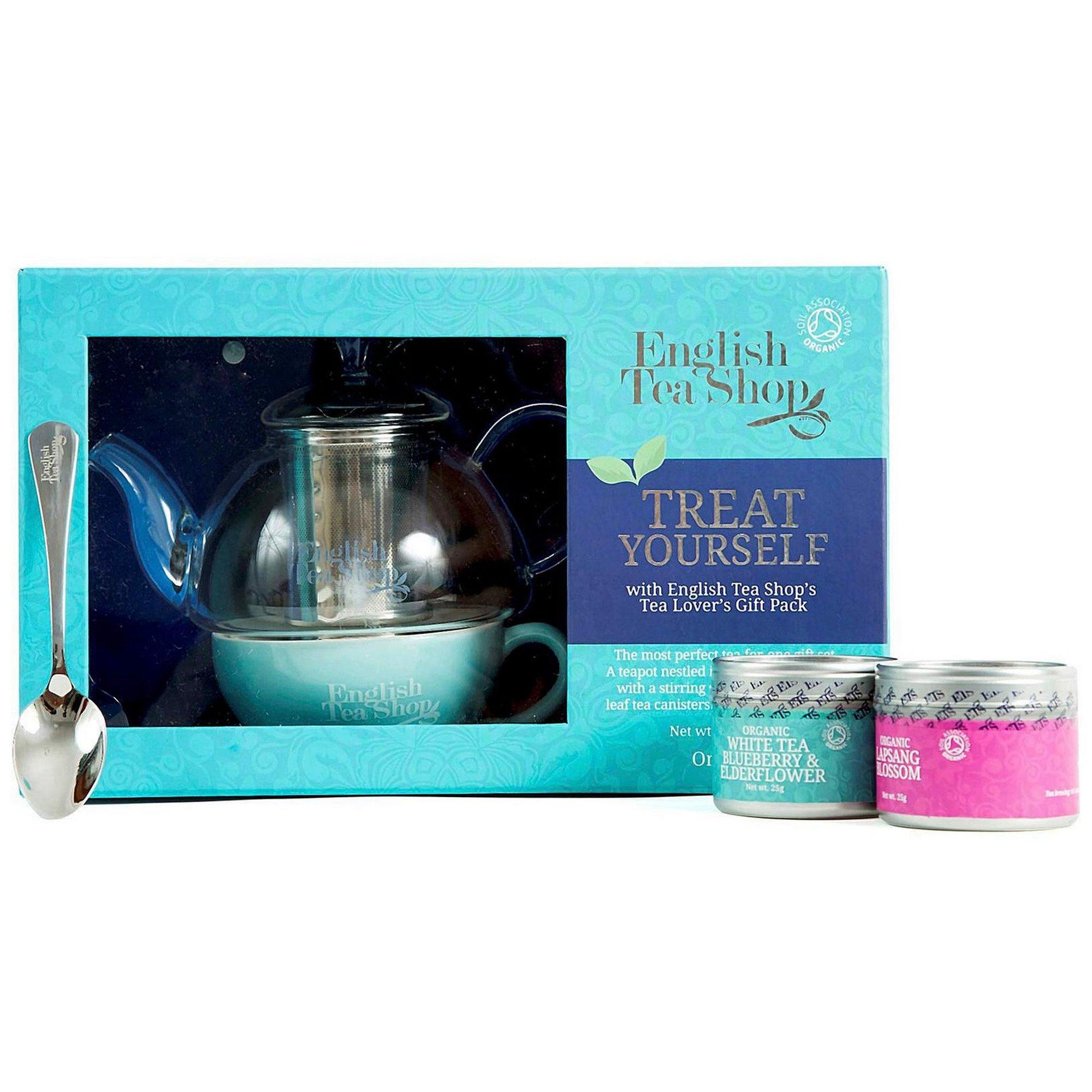 Image of English Tea Shop Loose Leaf Teas and Teapot