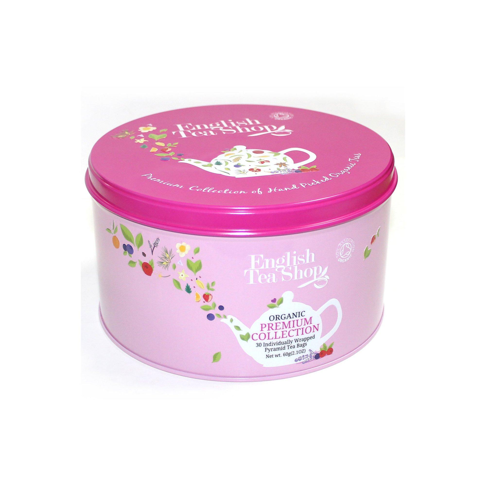 Image of English Tea Shop Round Premium Gift Tin