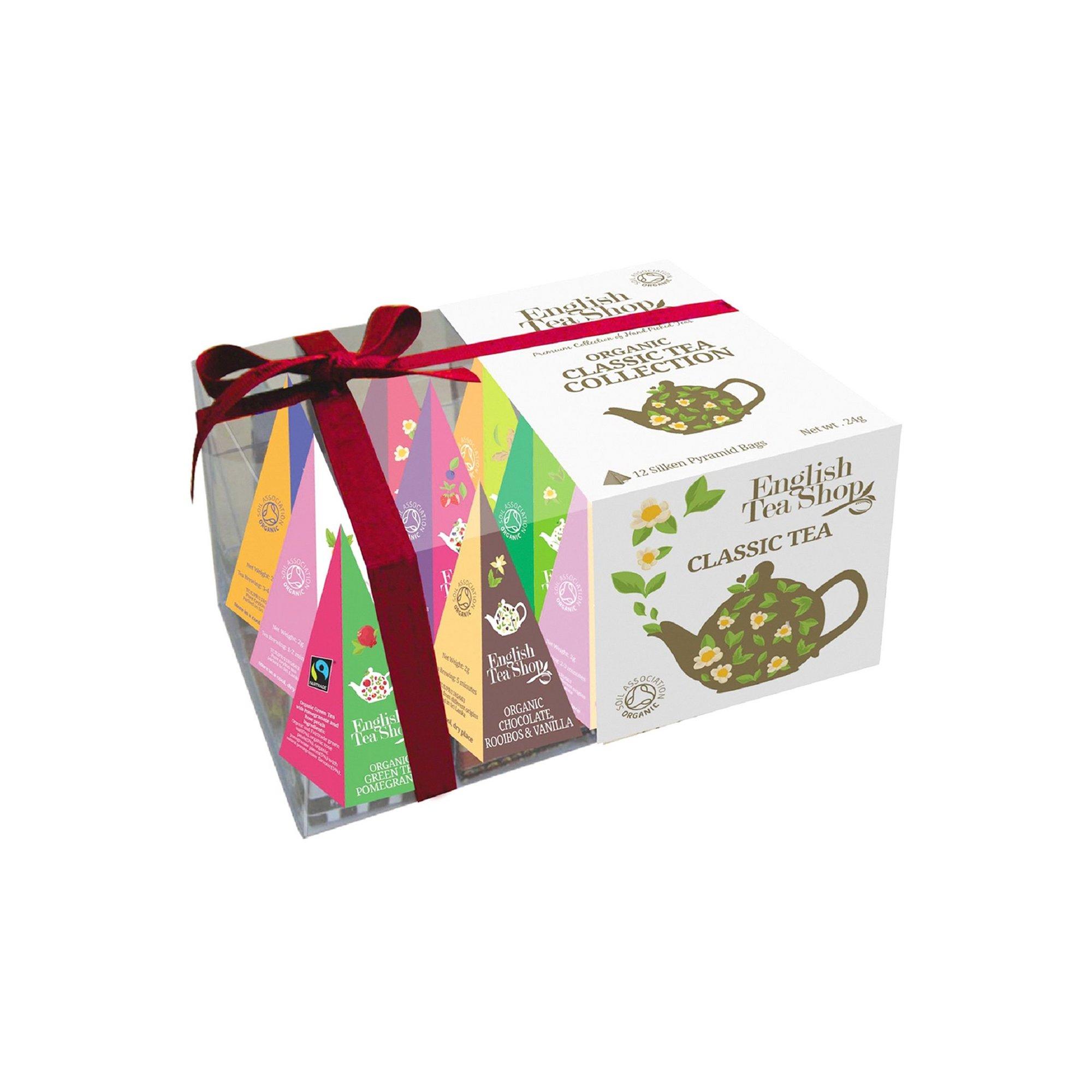 Image of English Tea Shop Organic Prism Classic Tea Collection