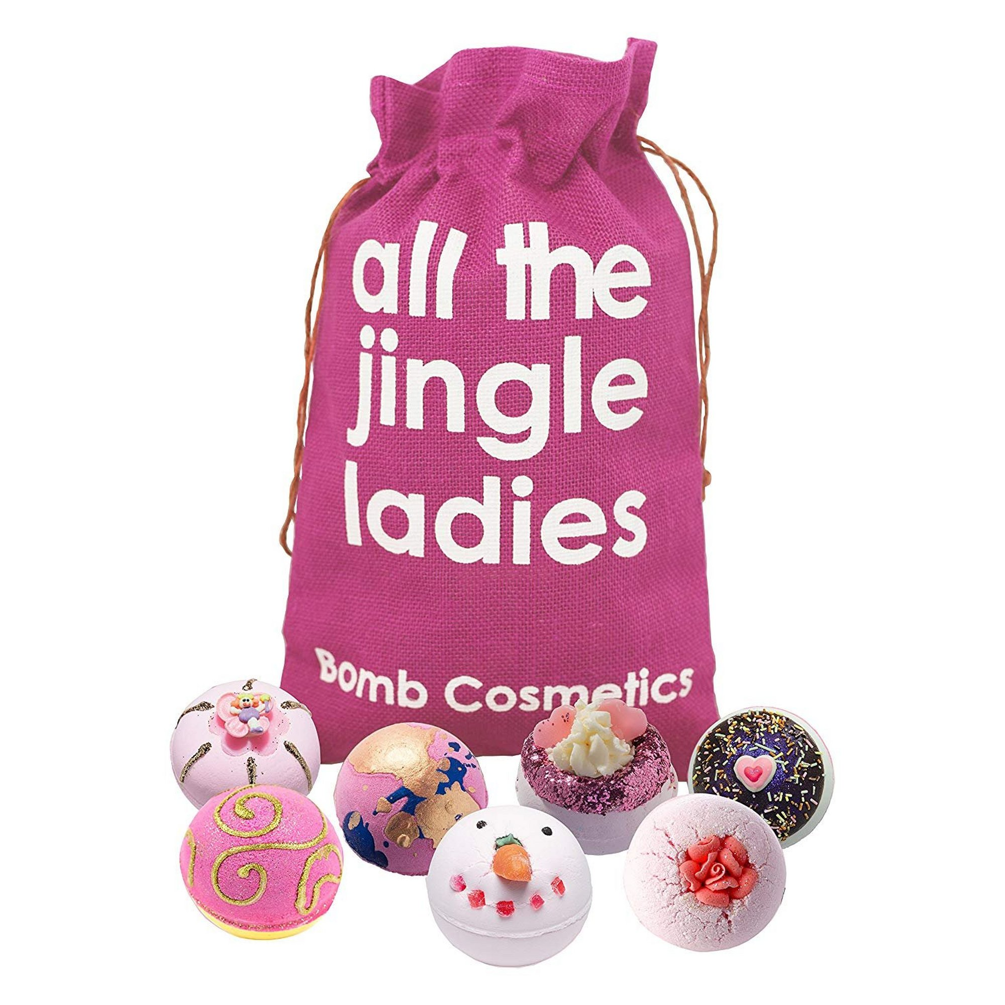 Image of Bomb Cosmetics All the Jingle Ladies Sack