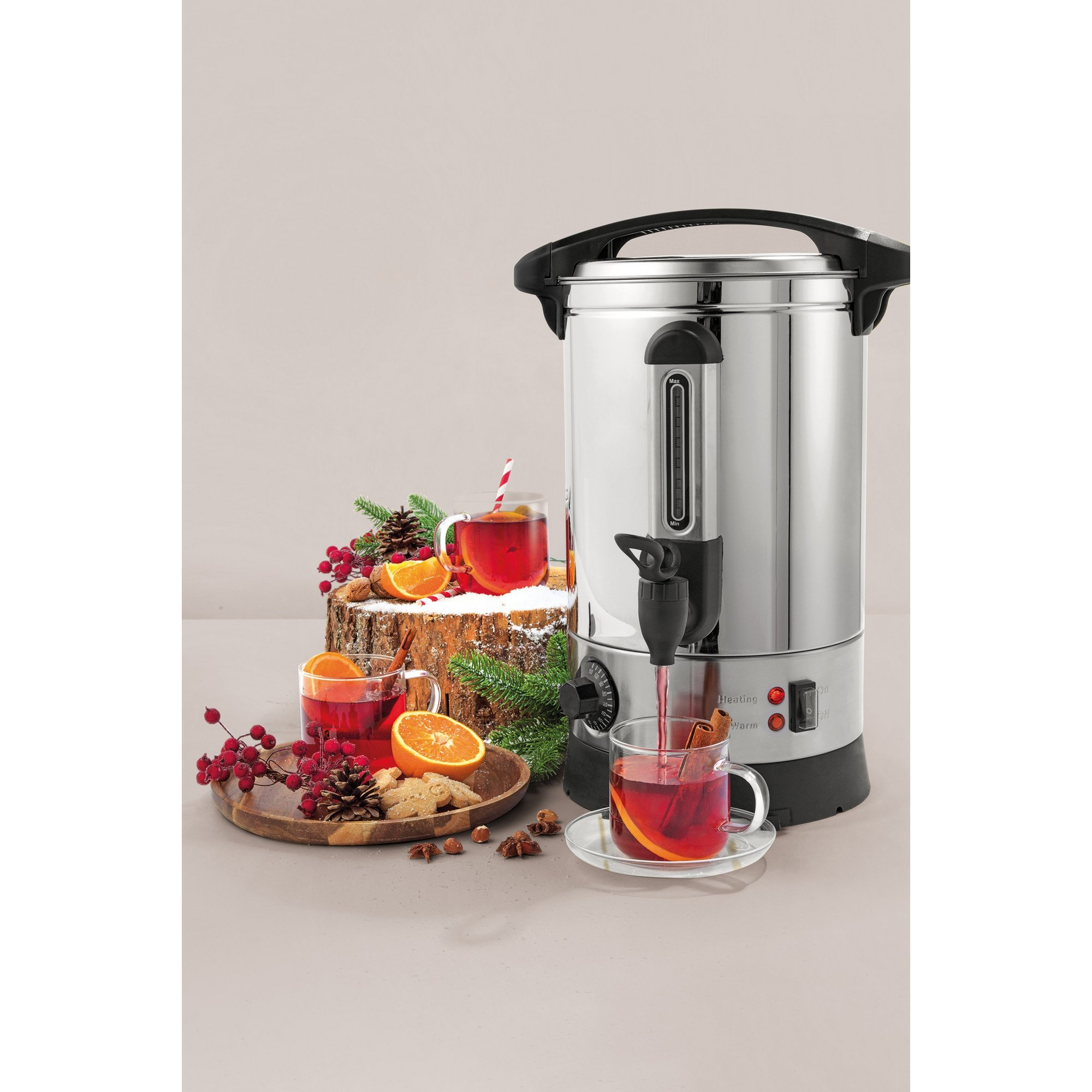 Image of Giles and Posner 7 Litre Hot Water&#44 Cider and Mulled Wine Urn
