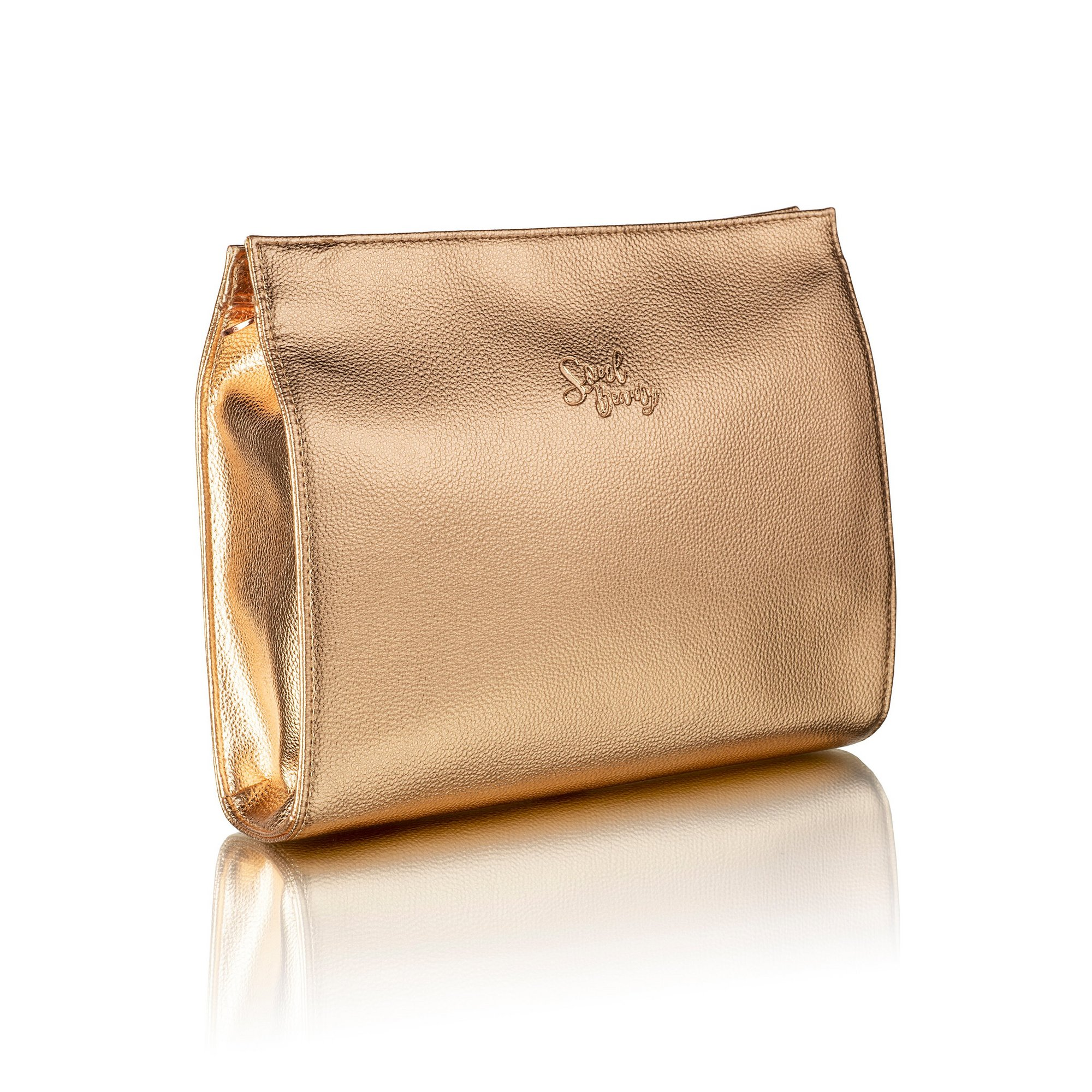 Image of Soul Beauty The Signature Collection Rose Gold Cosmetic Bag