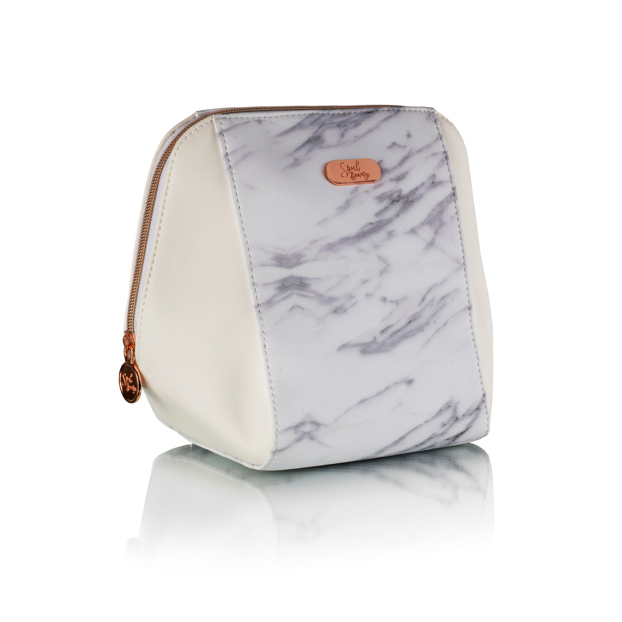 Image of Soul Beauty Marble Collection Cosmetics Bag