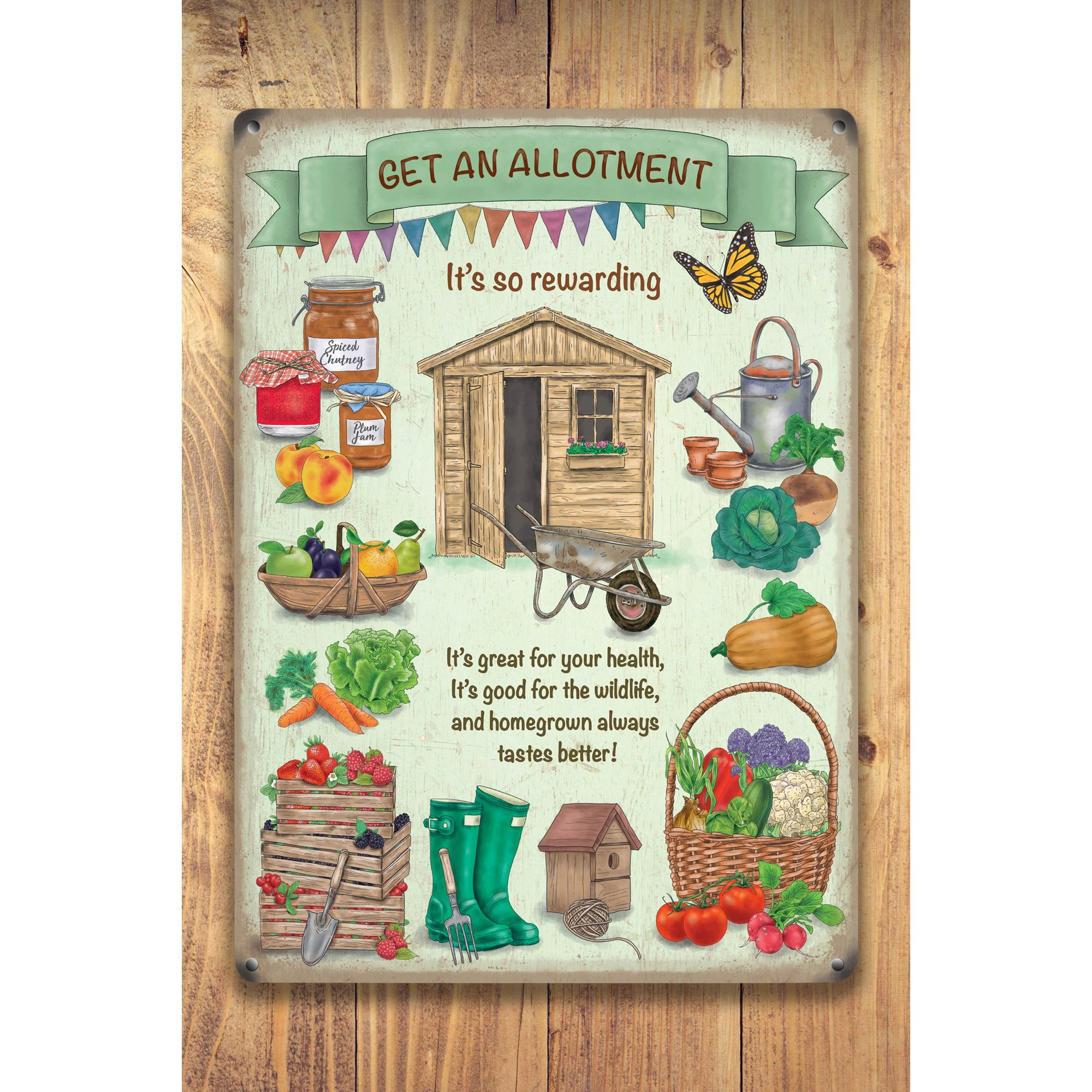 Image of Allotment Sign