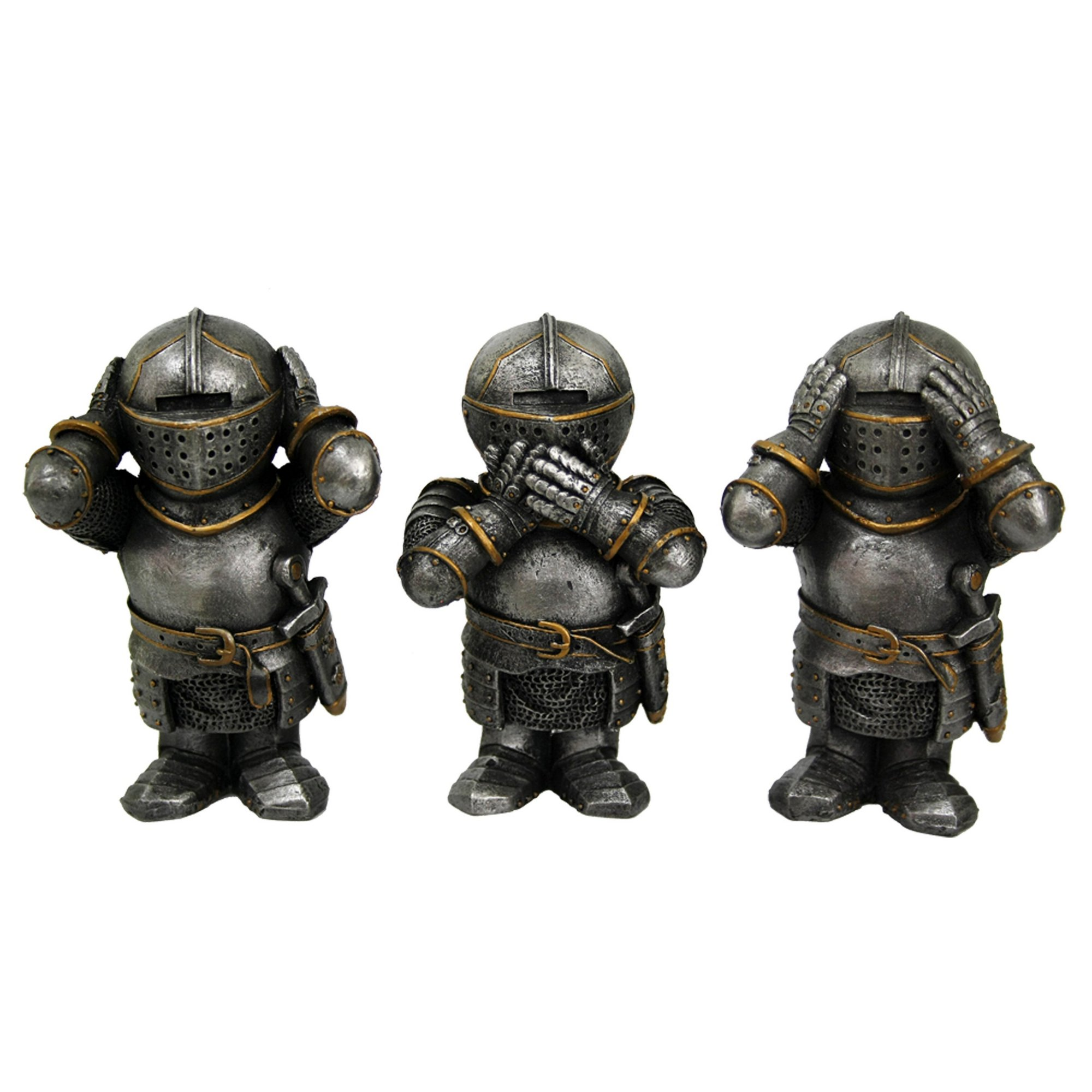 Image of 3 Wise Knights Figurine