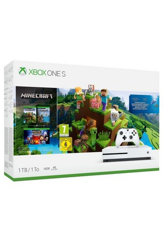 Image For Xbox One S 1tb Minecraft From Studio