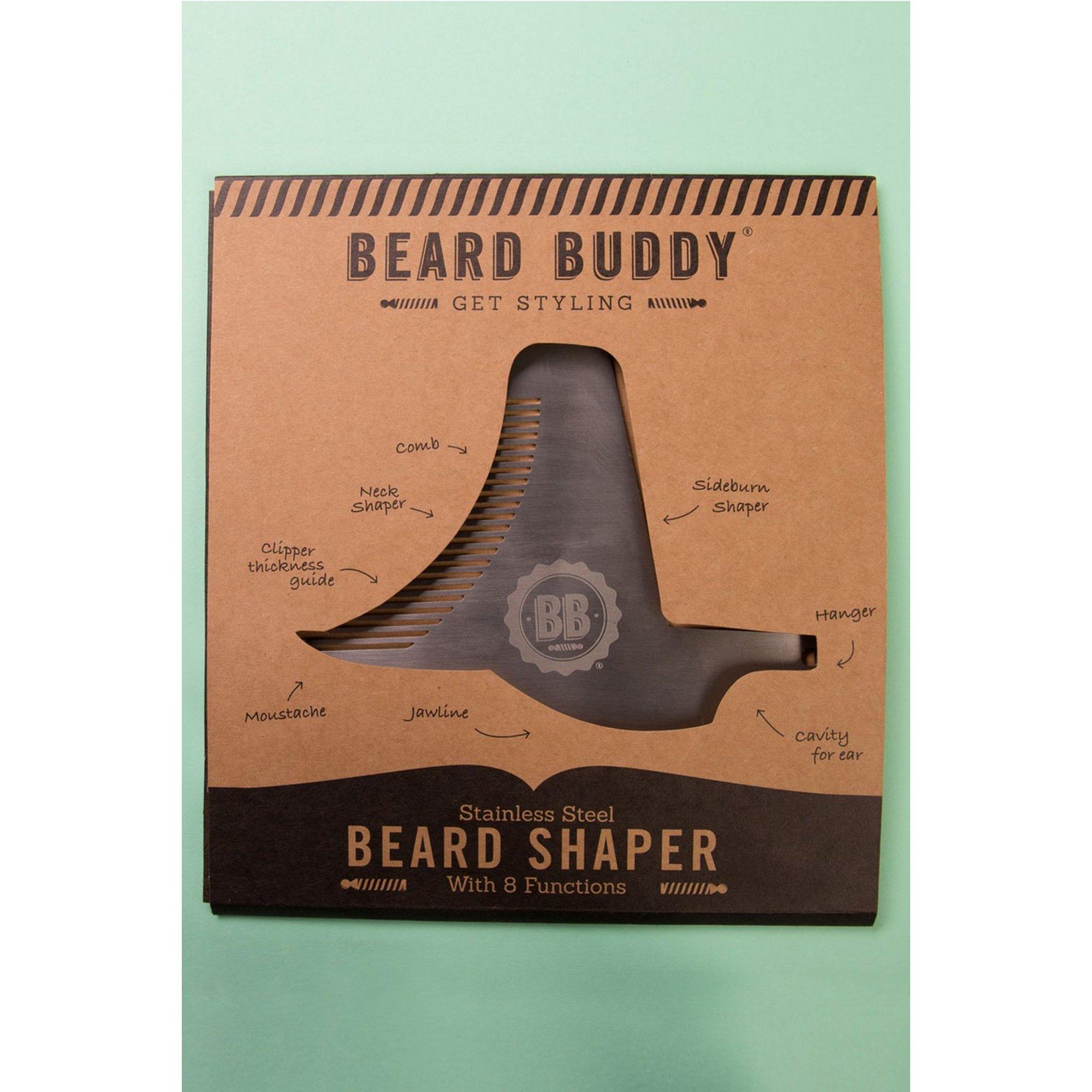 Image of Beard Buddy Metal Grooming Tool