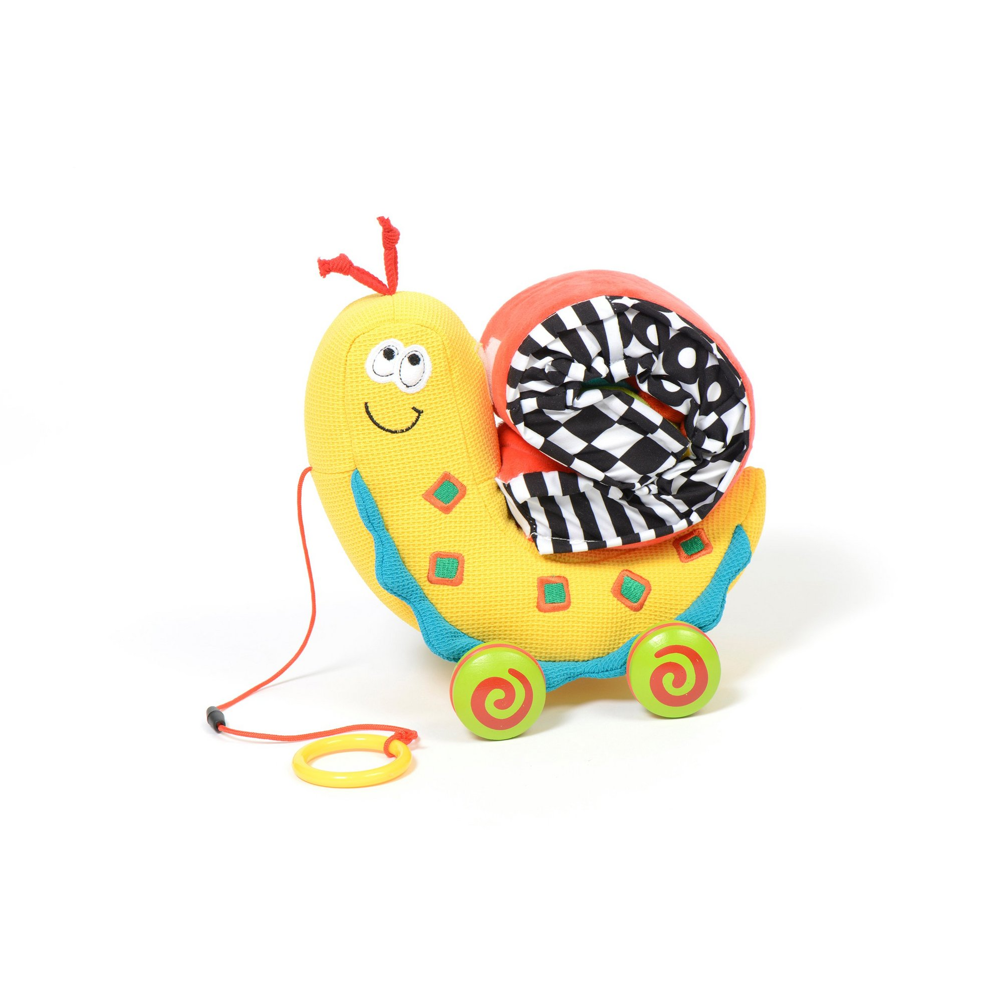 Image of Pull Along Colour Snail Toy