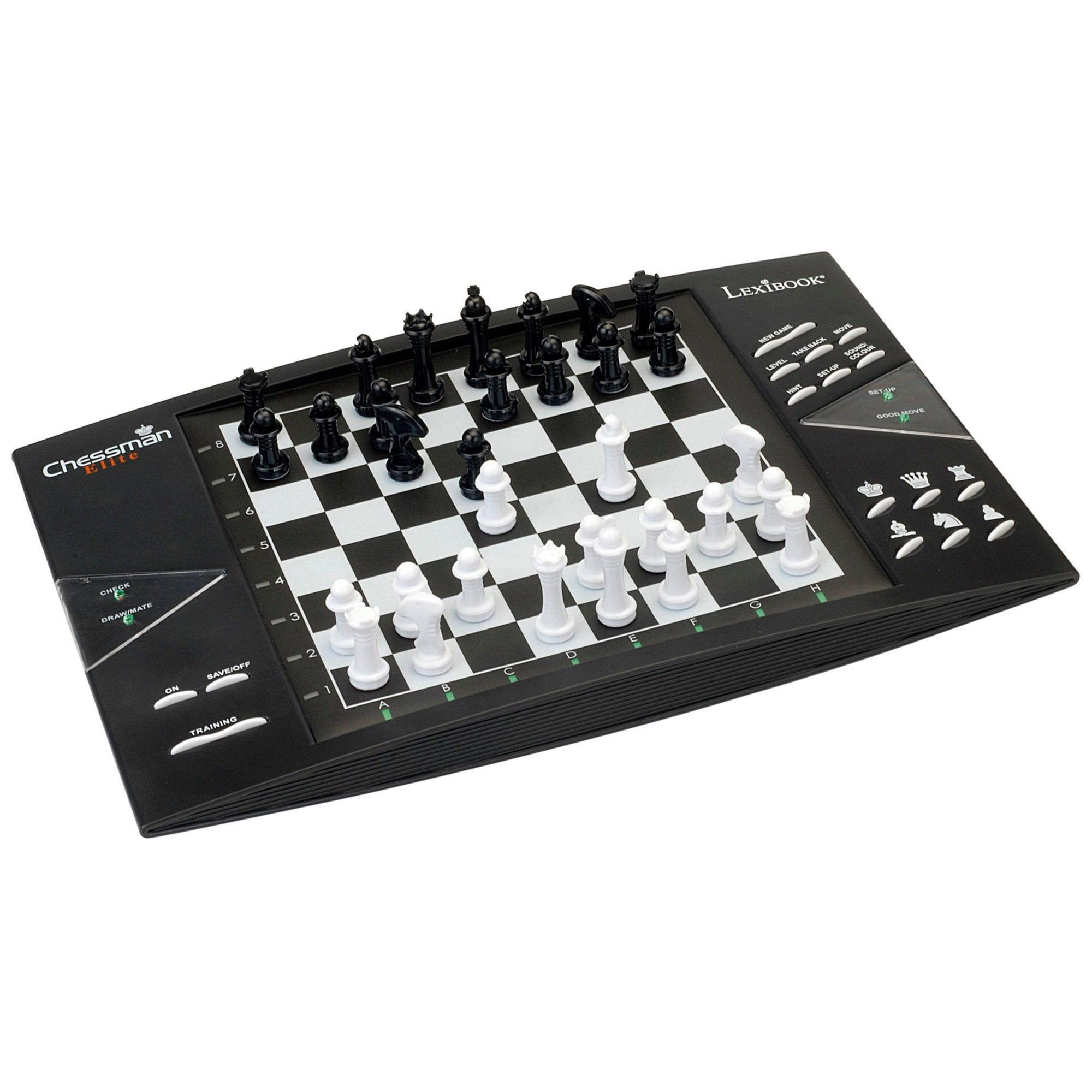 Image of Lexibook Chessman Elite Electronic Chess Game with Touch Sensitiv...