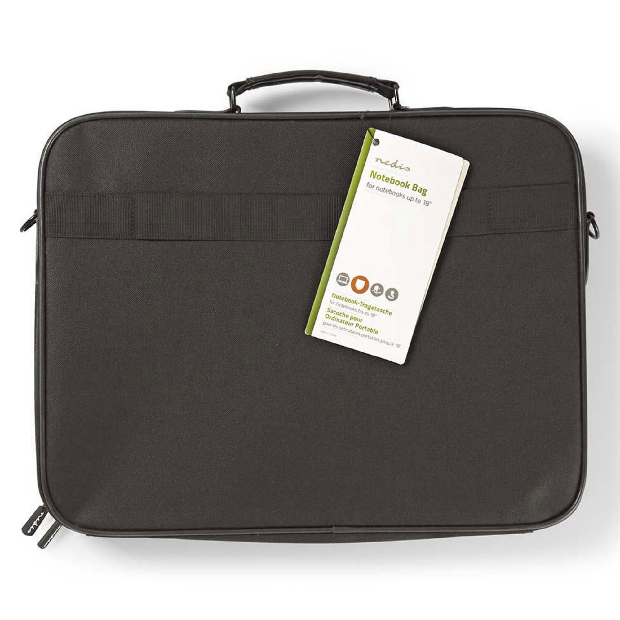 Image of Nedis Large Notebook Laptop Bag