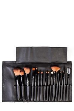 7650f7f0b578 LaRoc 16-Piece Make Up Brush Cosmetic Set