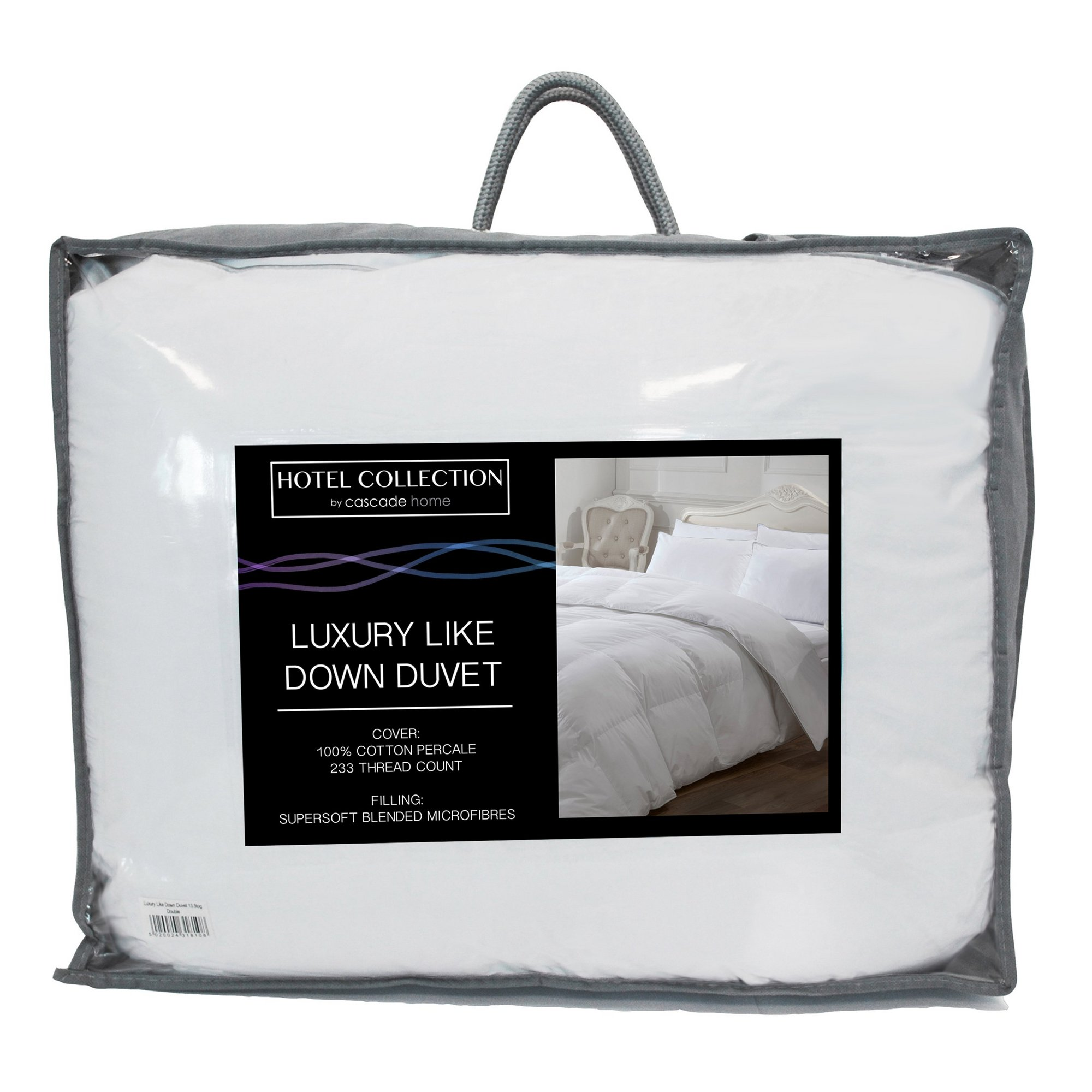 Image of Hotel Collection Luxury Like Down 13.5 Tog Duvet