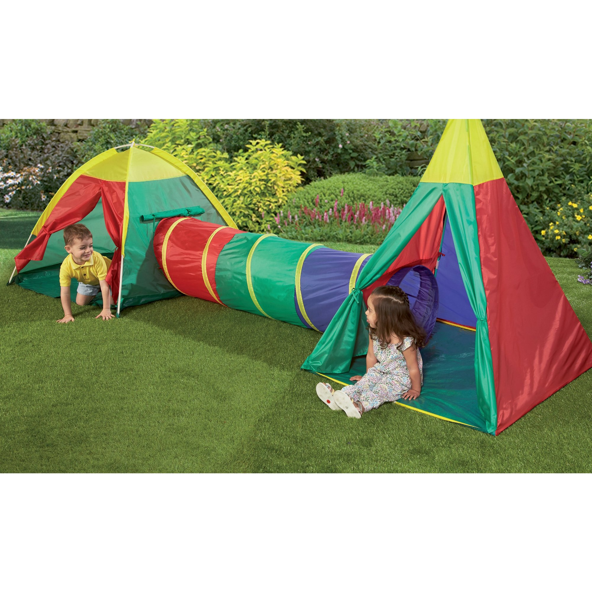 Image of 3-in-1 Adventure Play Tent