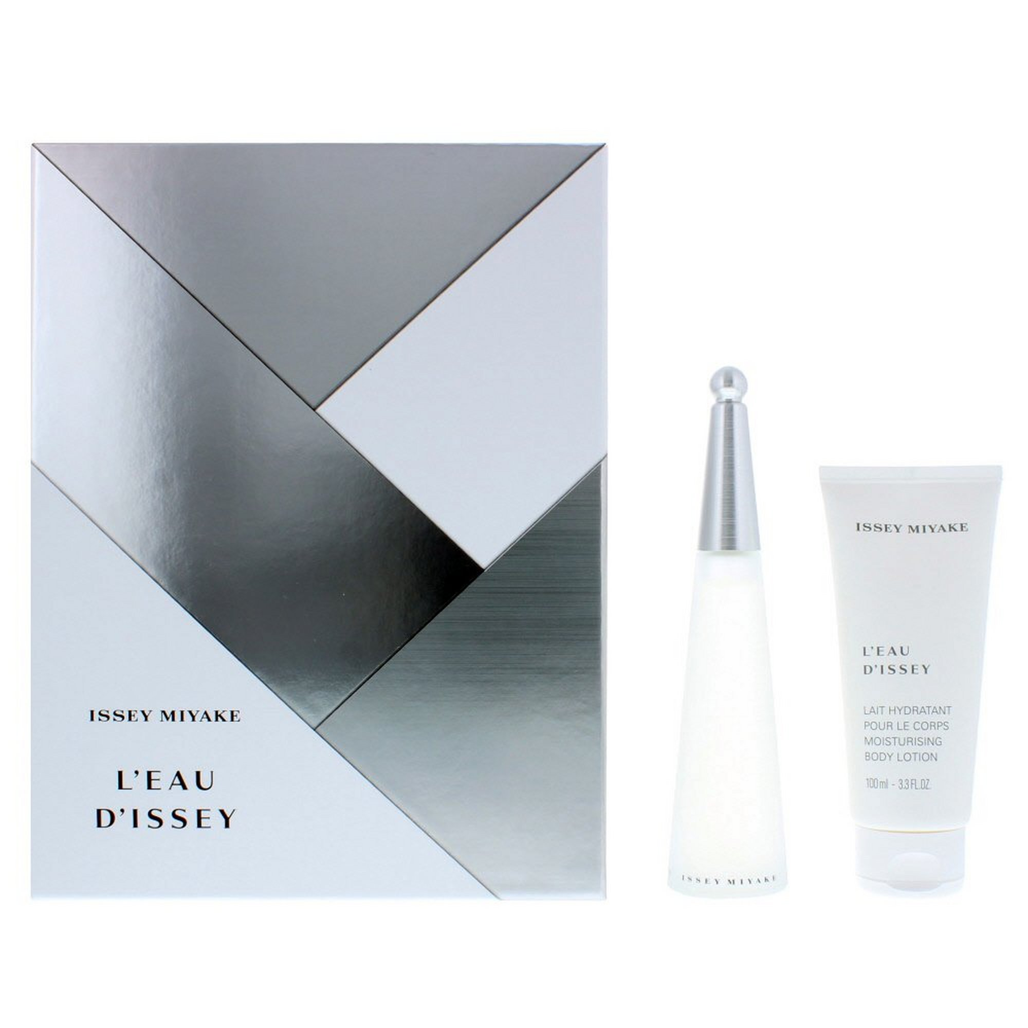 Image of Issey Miyake Leau Dissey 50ml EDT + Body Lotion Gift Set