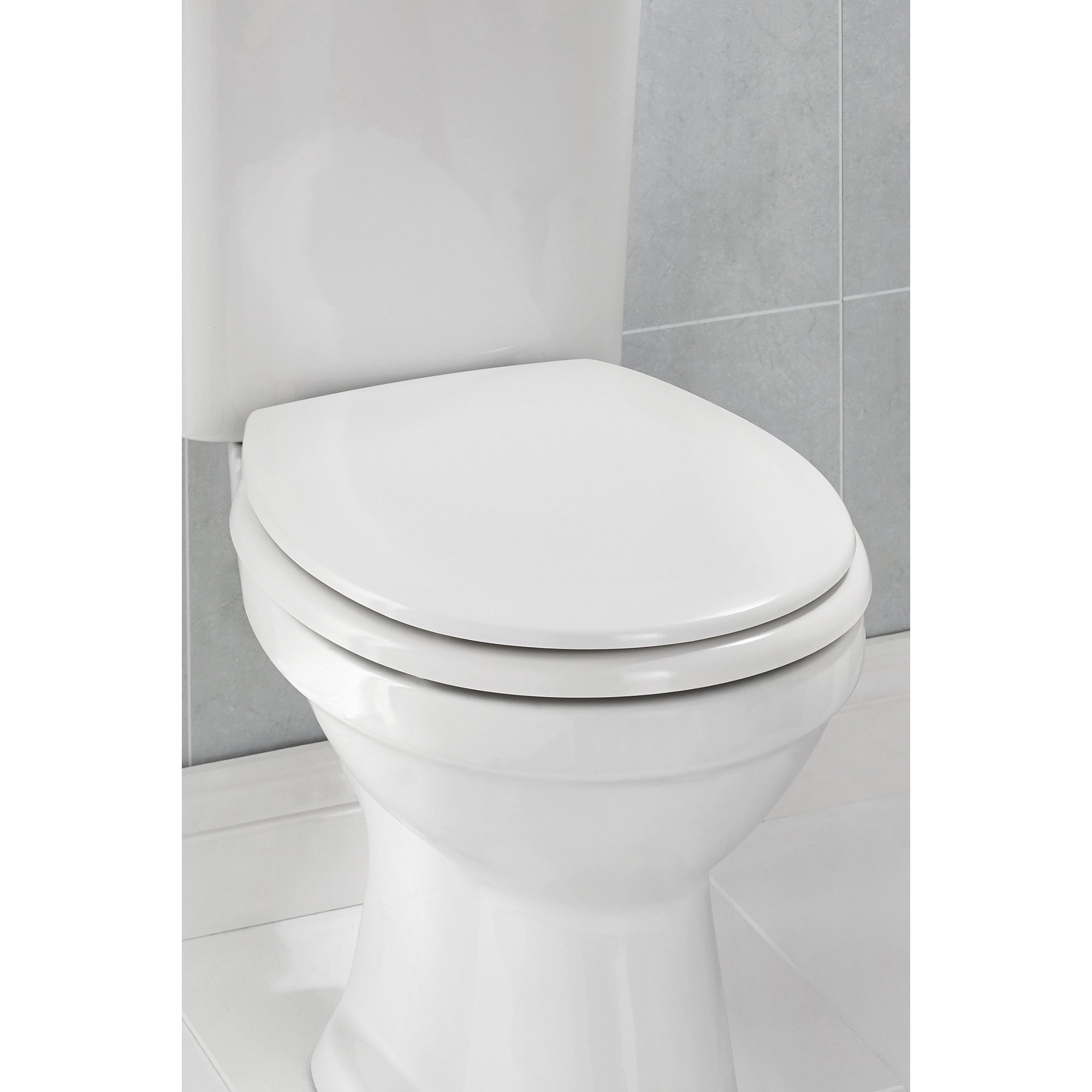 Image of Beldray Soft Close White Toilet Seat