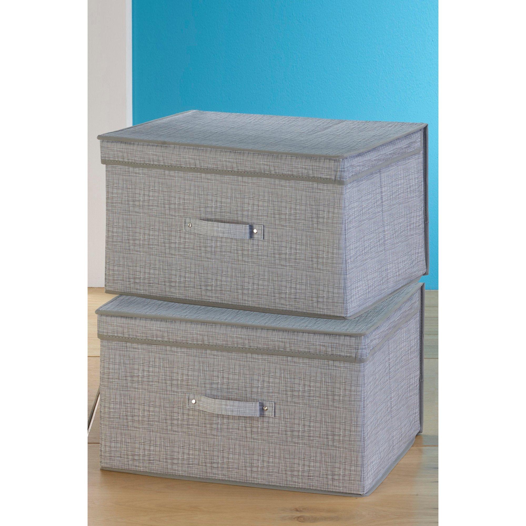 Image of 2 Large Storage Boxes
