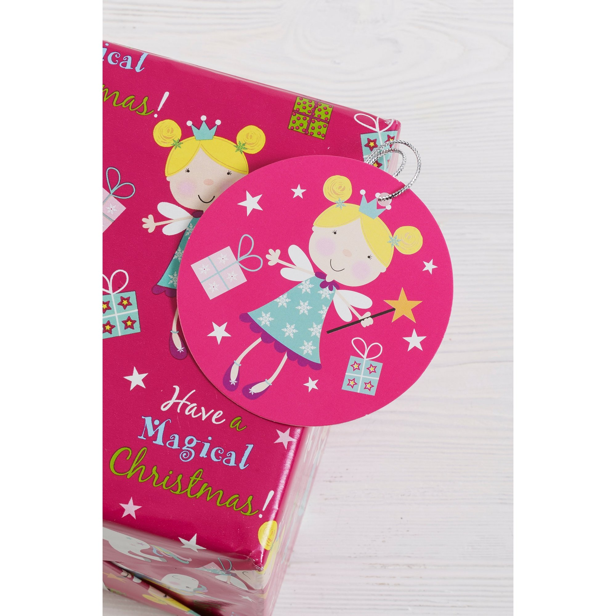 Image of 10 Pink Fairy Tags