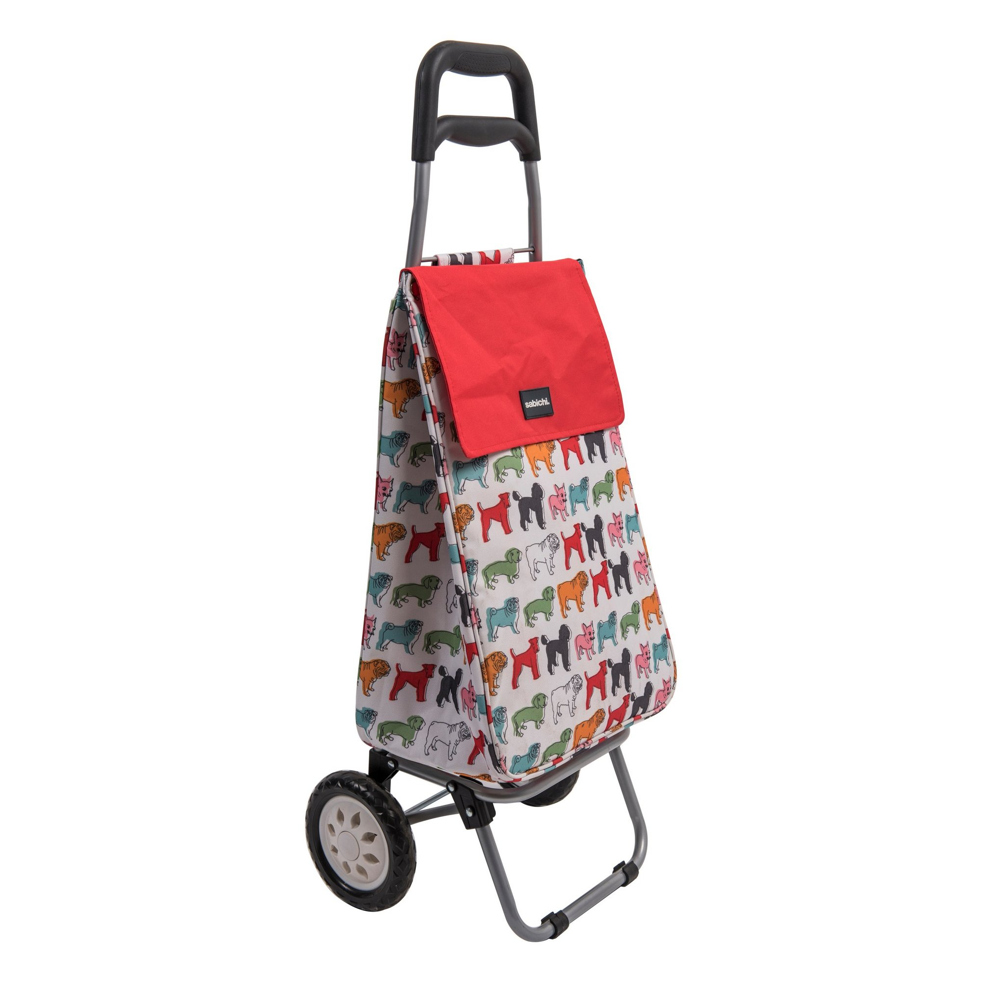 Image of Pug Shopping Trolley