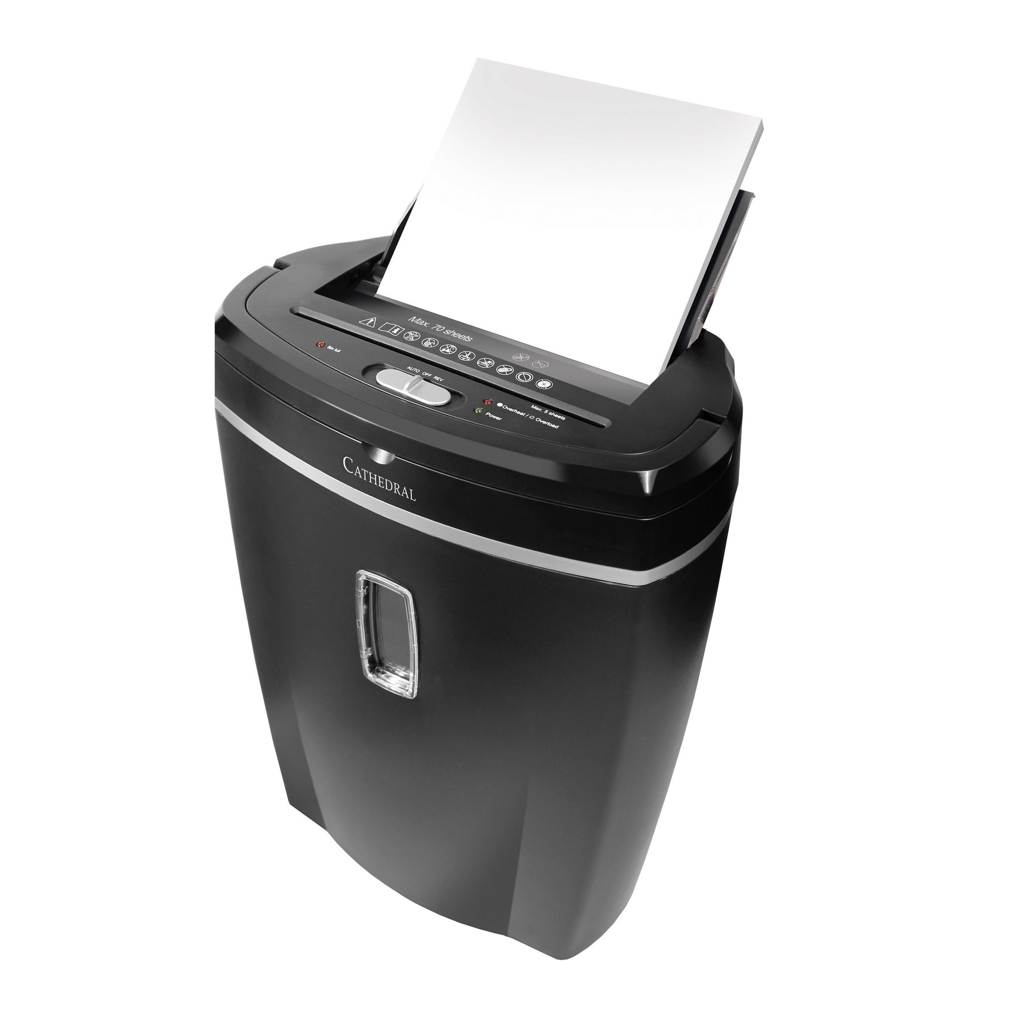 Image of Cathedral 70 Sheet Cross Cut Shredder