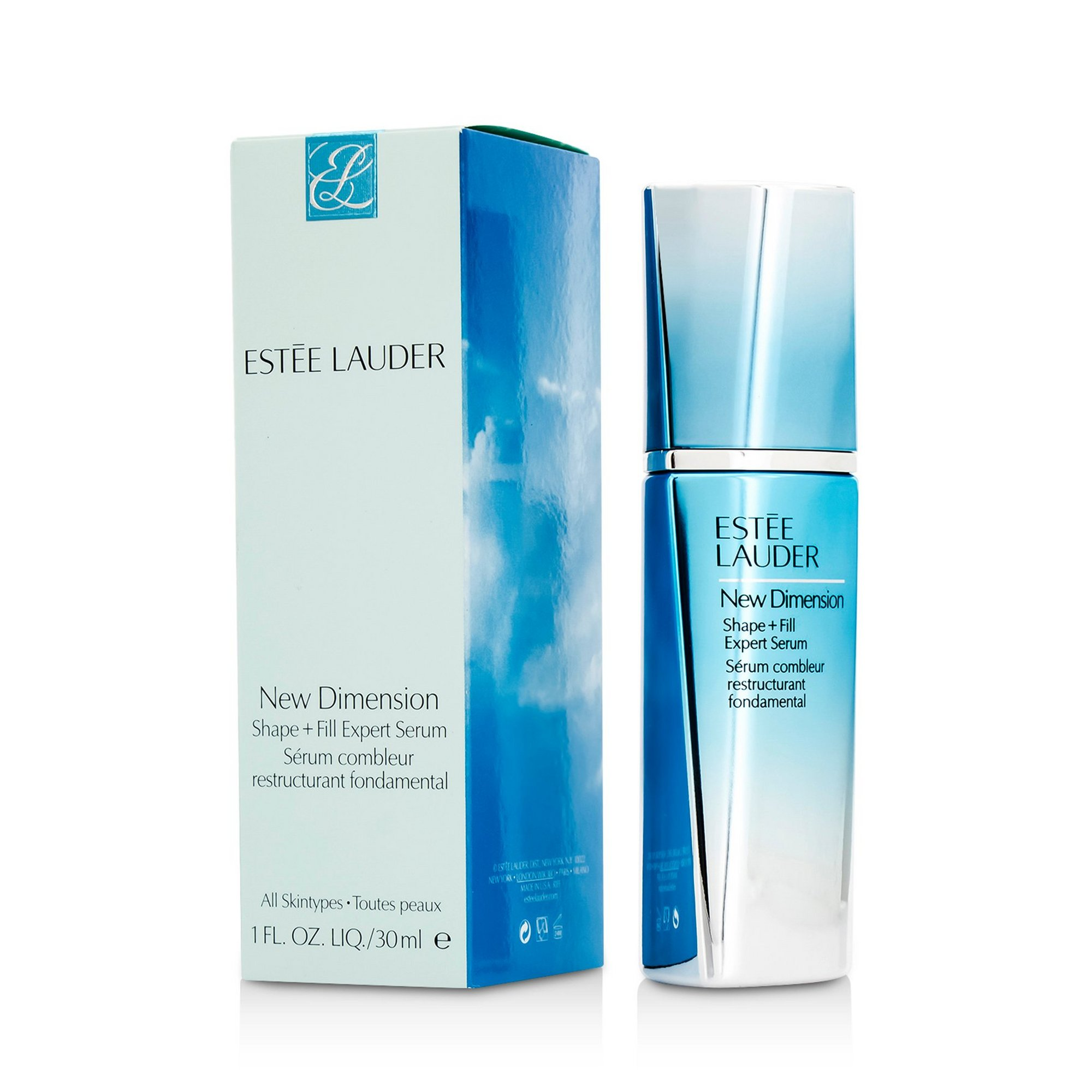 Image of Estee Lauder New Dimension Shape + Fill Expert Serum