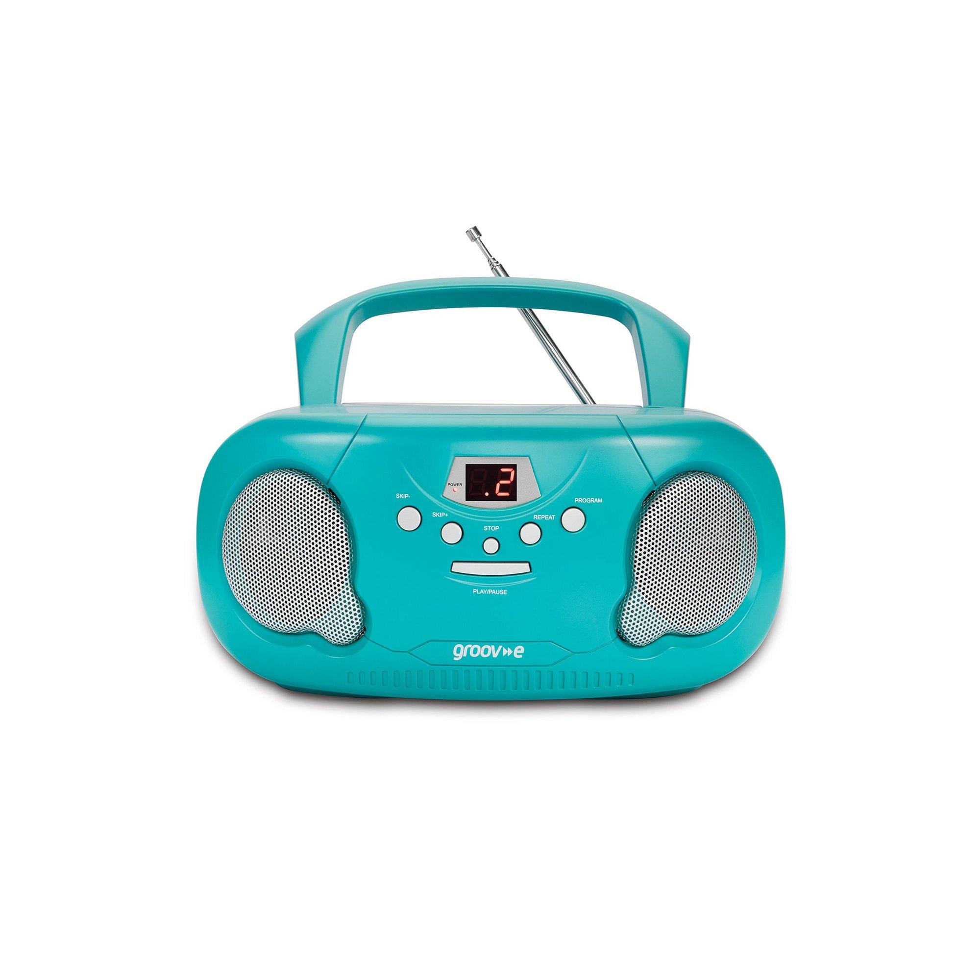 Image of Groov-e Original Boombox with Radio