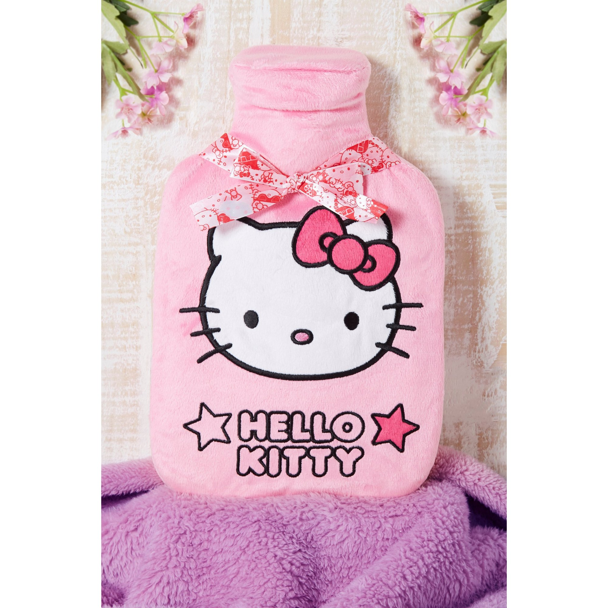 Image of Hello Kitty Ribbon Hot Water Bottle
