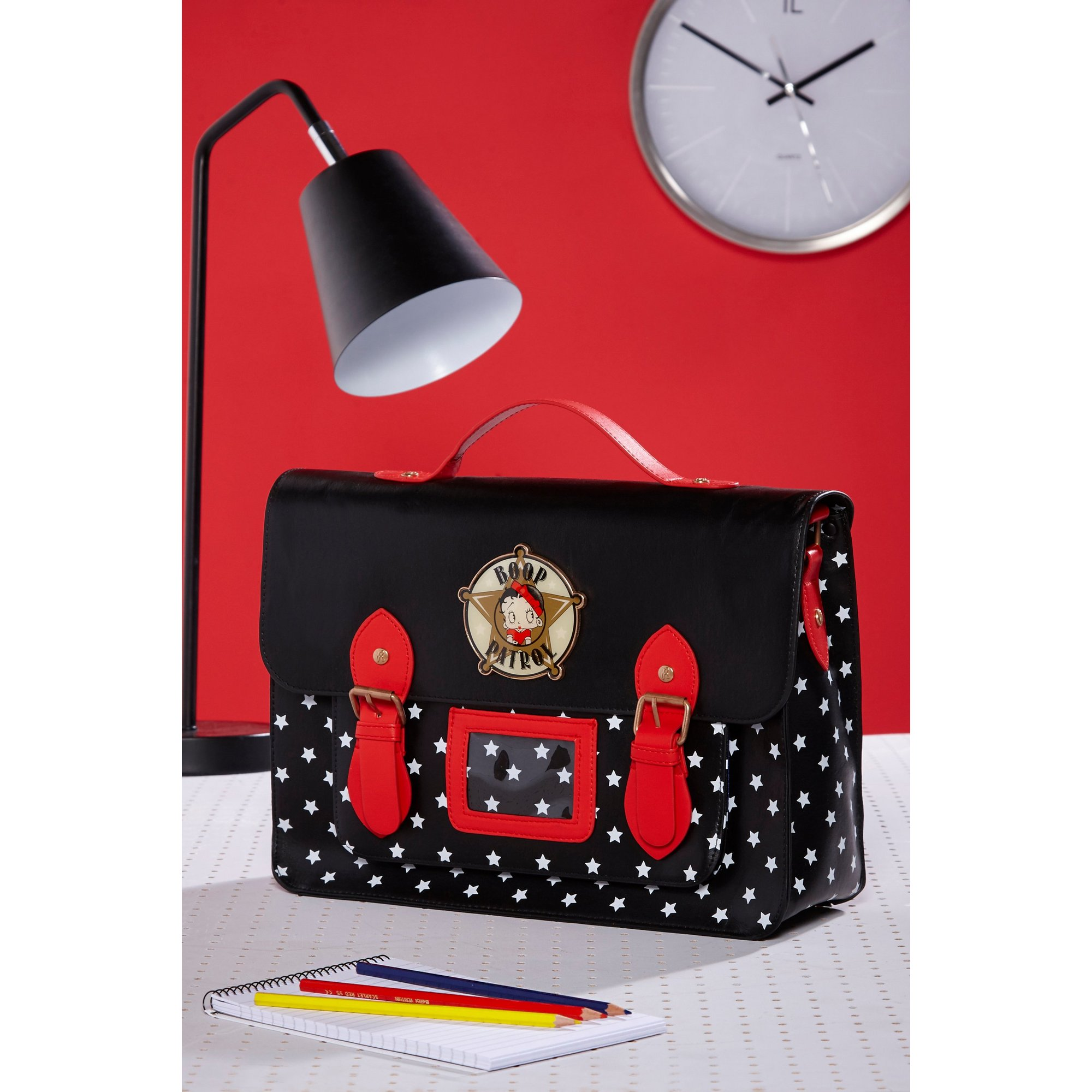 Image of Betty Boop Police Satchel Bag