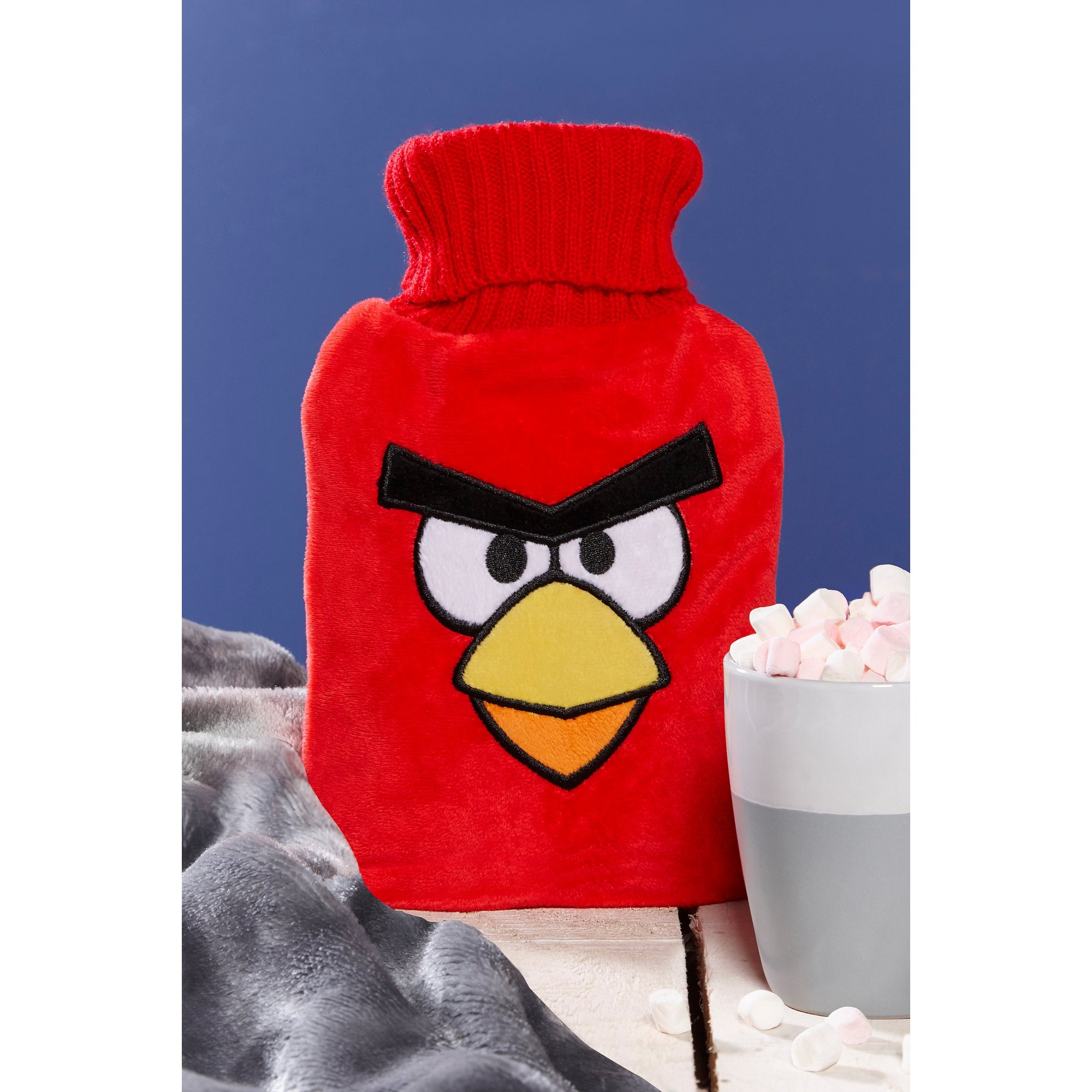 Image of Angry Birds Red Hot Water Bottle