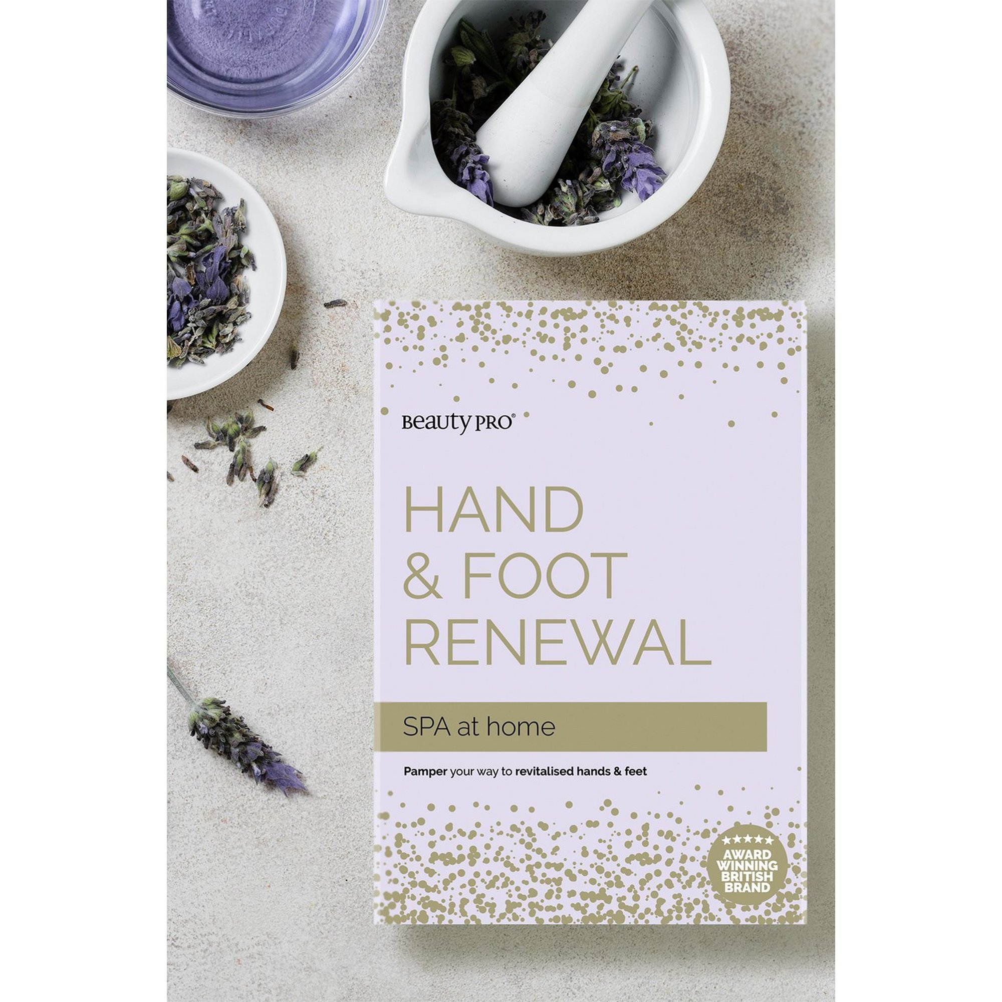 Image of Beauty Pro Hand + Foot Renewal Pamper Set