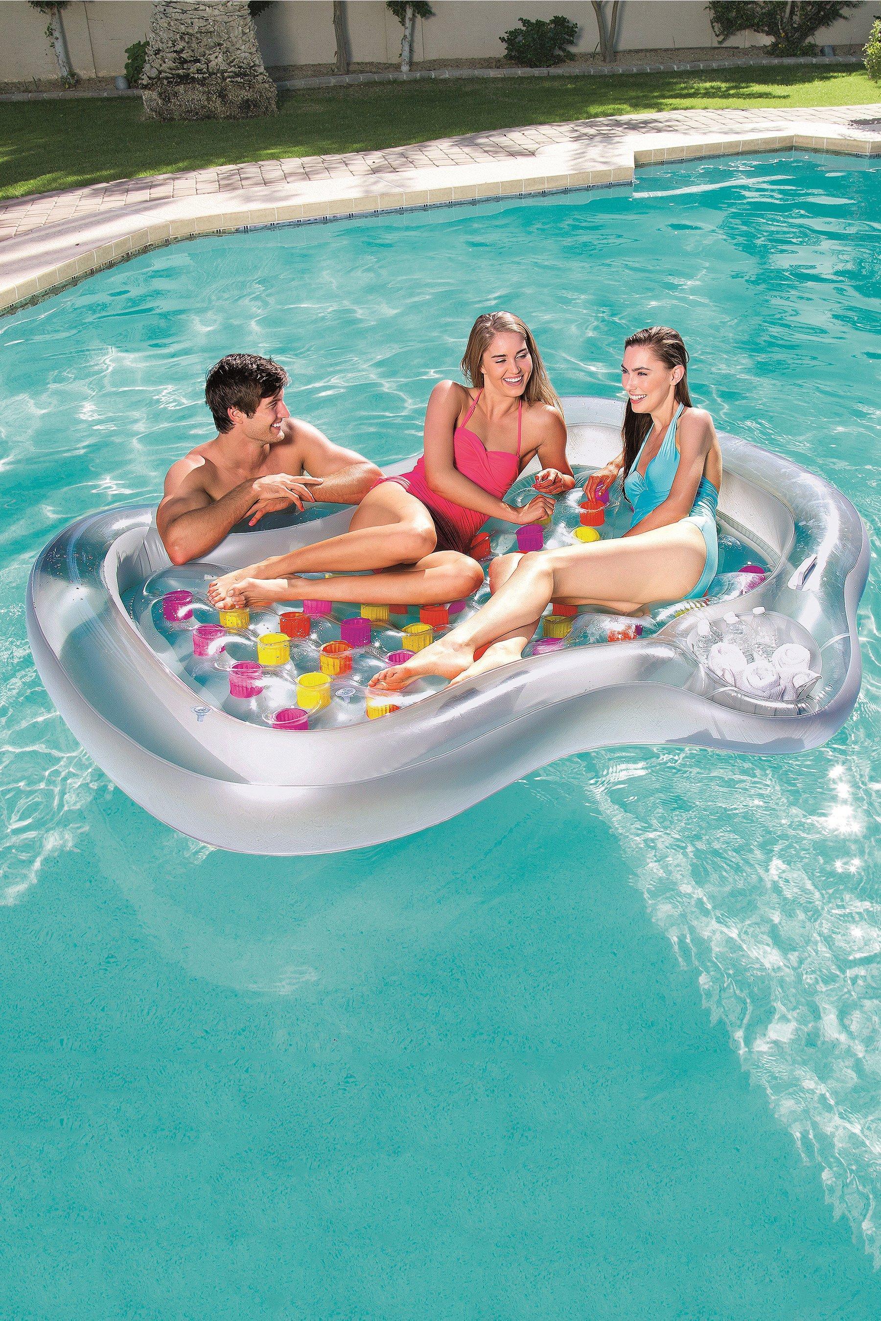 Bestway Inflatable Flocked Airbed Built
