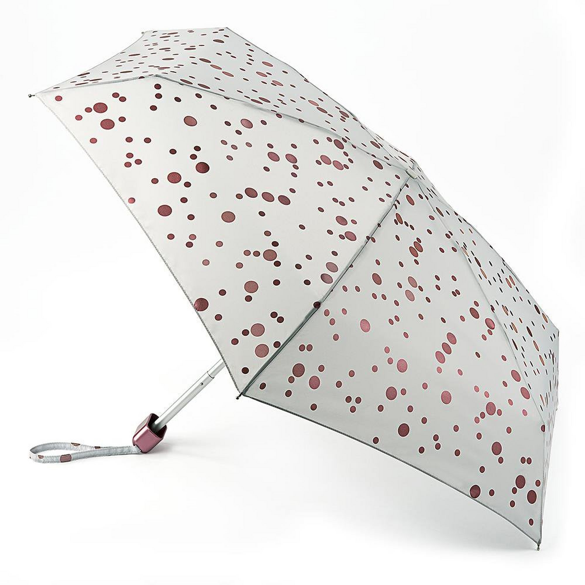 Image of Fulton Rose Gold Metallic Spots Tiny-2 Umbrella