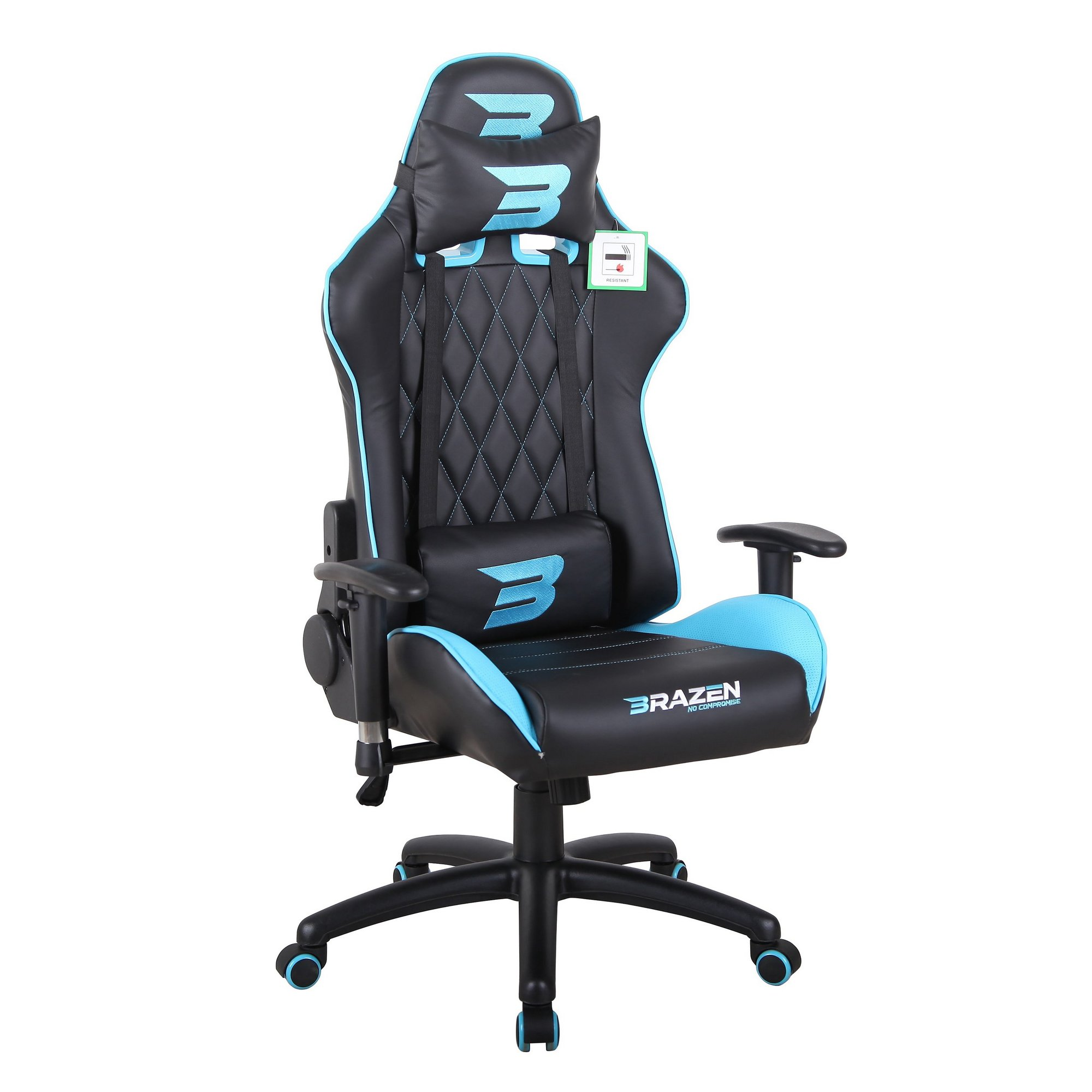Image of BraZen Phantom Elite Racing Gaming Chair