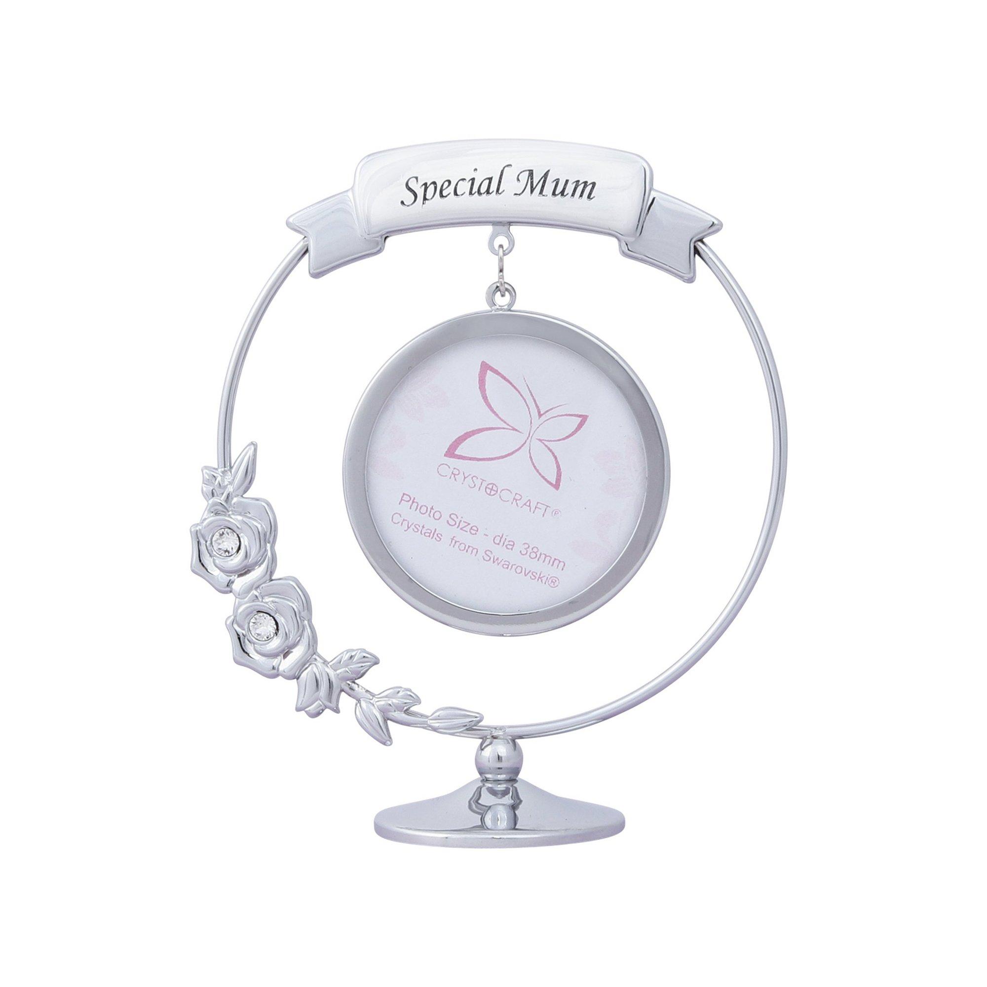 Image of Crystocraft Swarovski elements Special Mum photo Frame