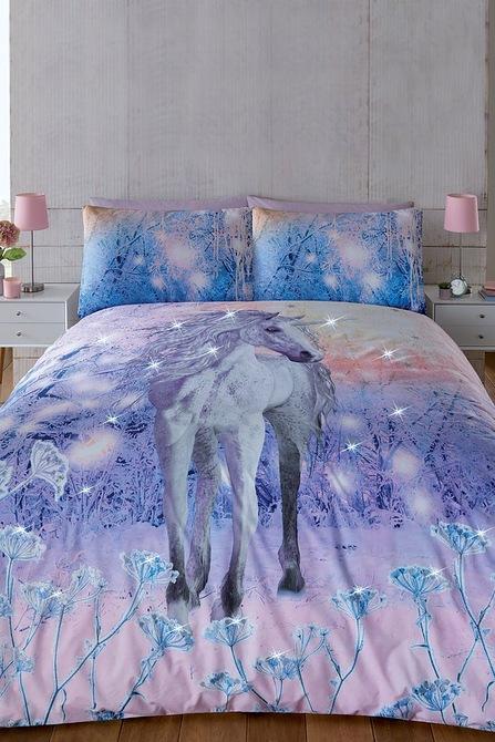Image for Magical Unicorn Duvet Set from studio