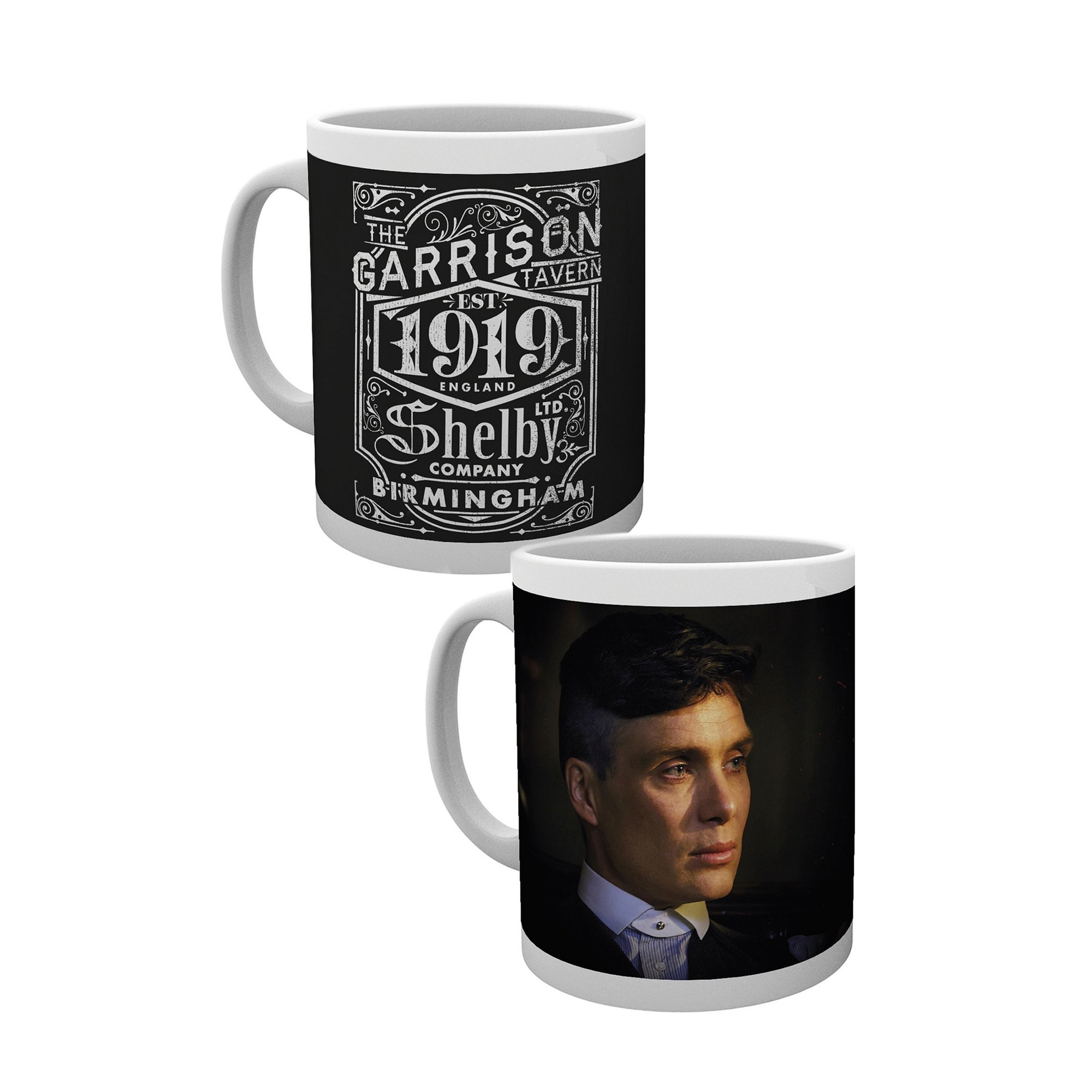Image of 2 Pack Peaky Blinders Mug Label and Tommy