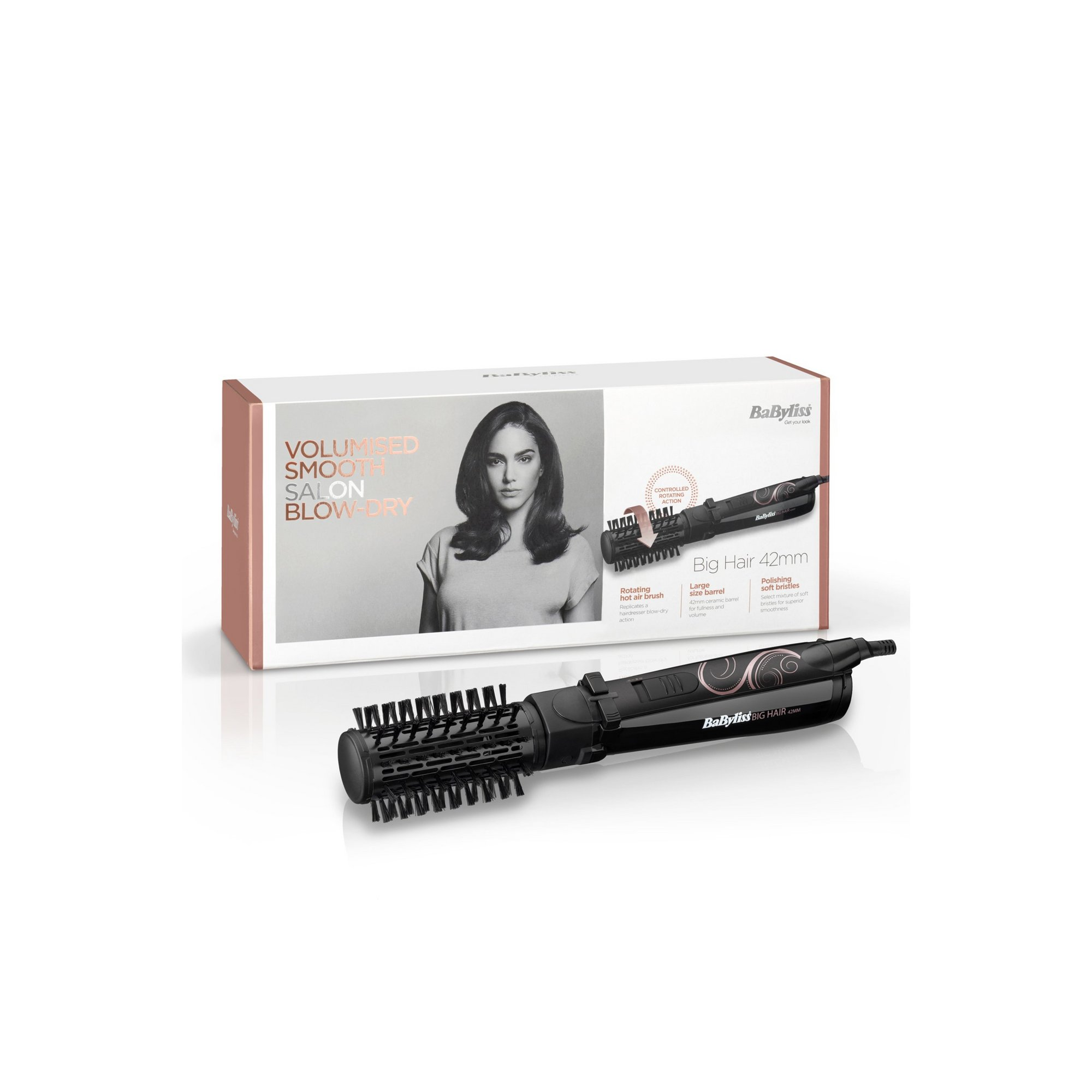 Image of BaByliss Big Hair 42mm Hot Air Brush