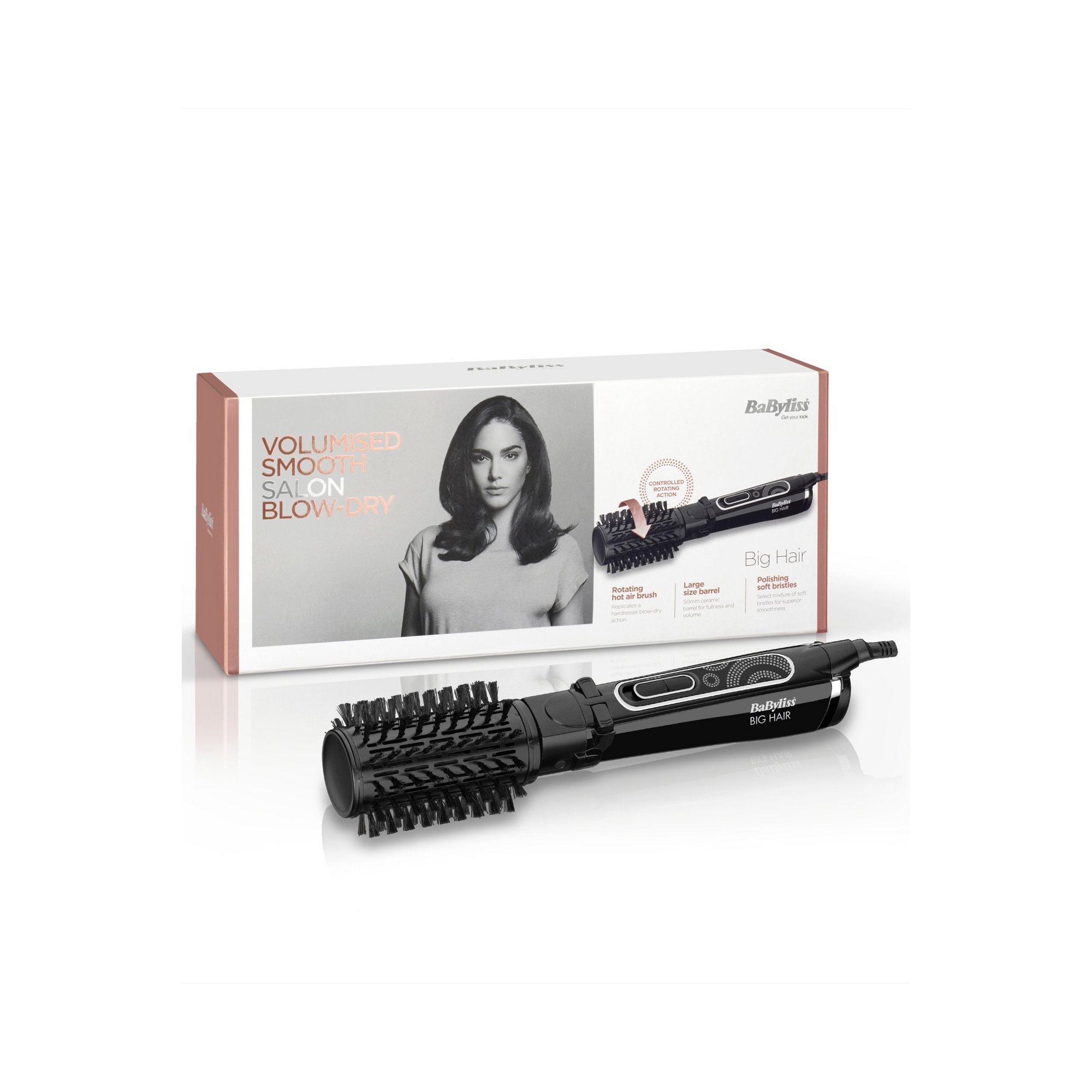 Image of BaByliss Big Hair 50mm Hot Air Brush