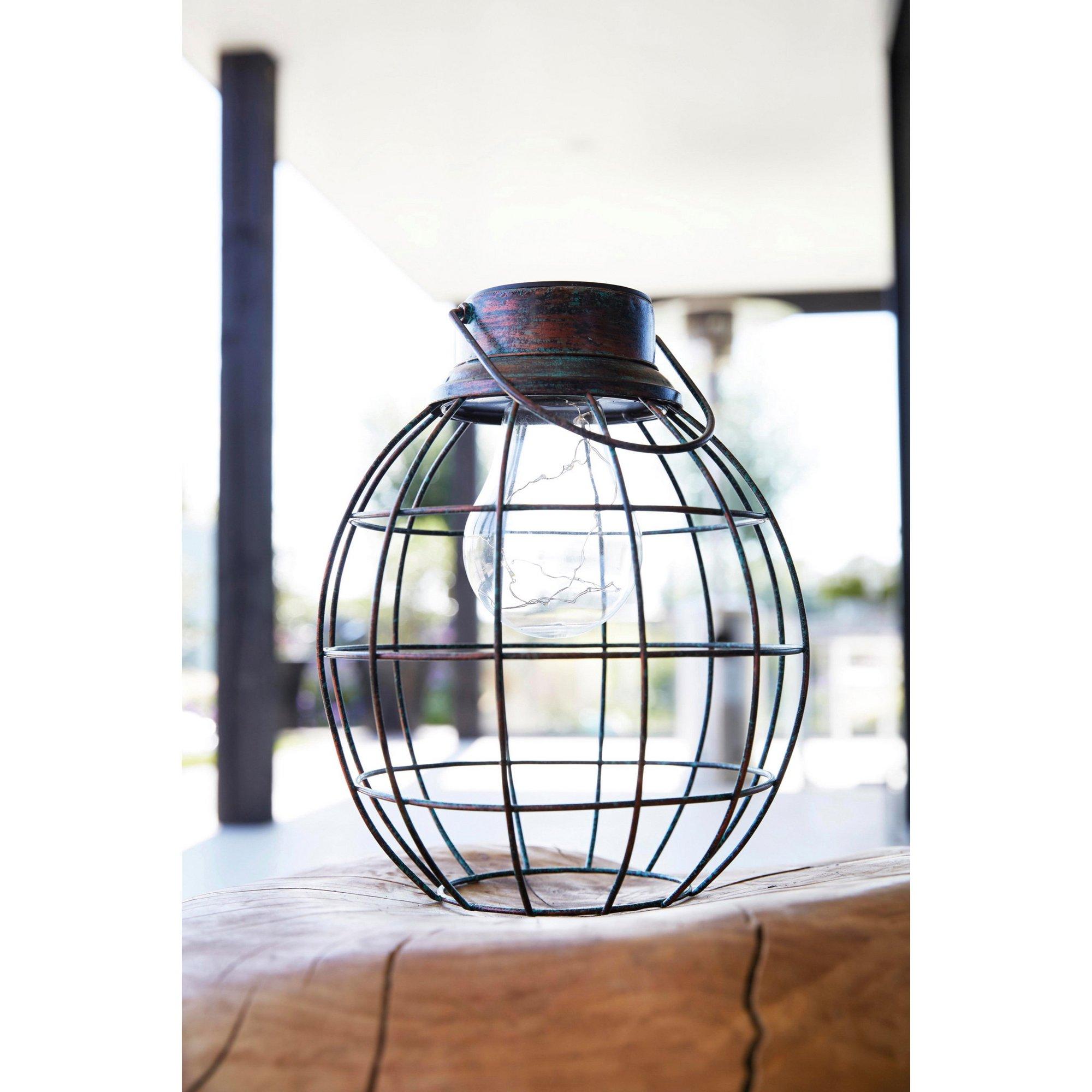 Image of Solar Tango Metal Lantern