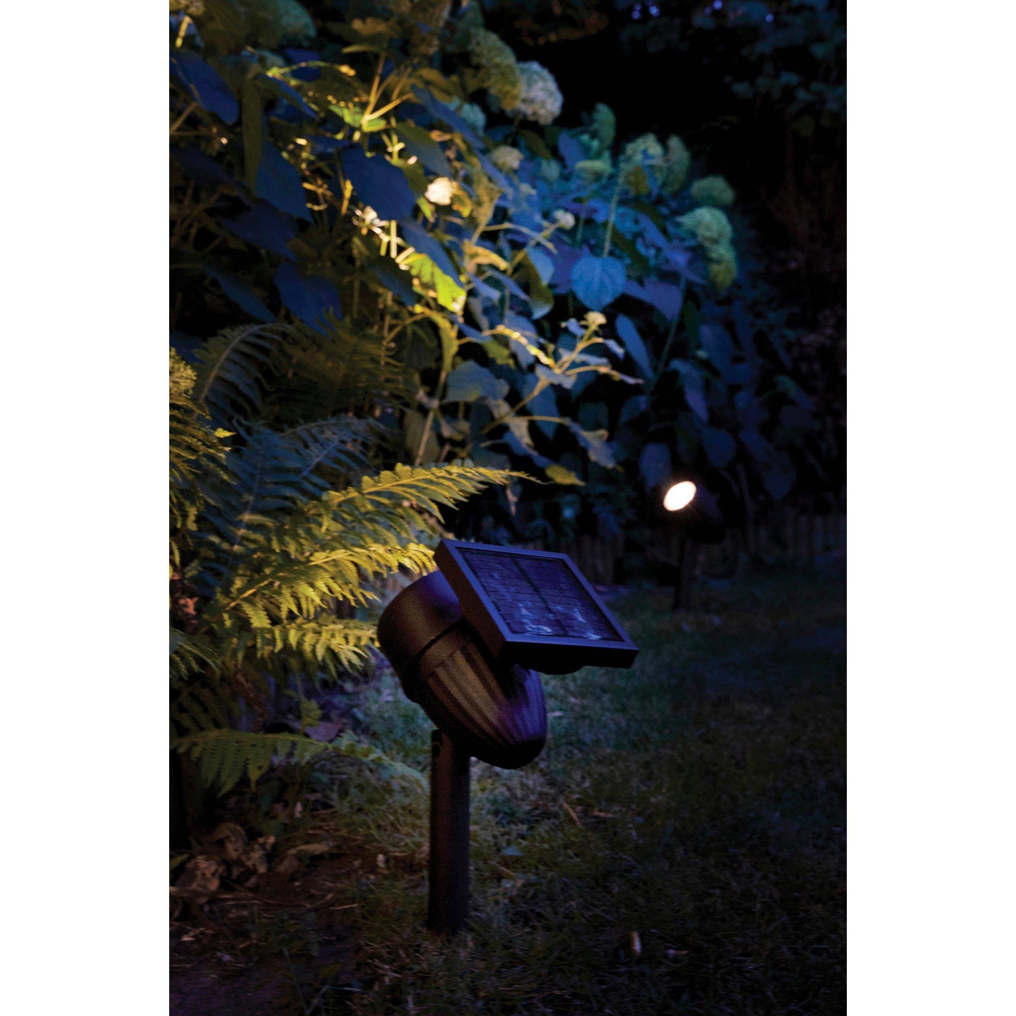 Image of Lunar Intelligent Solar LED Spot Spike Light