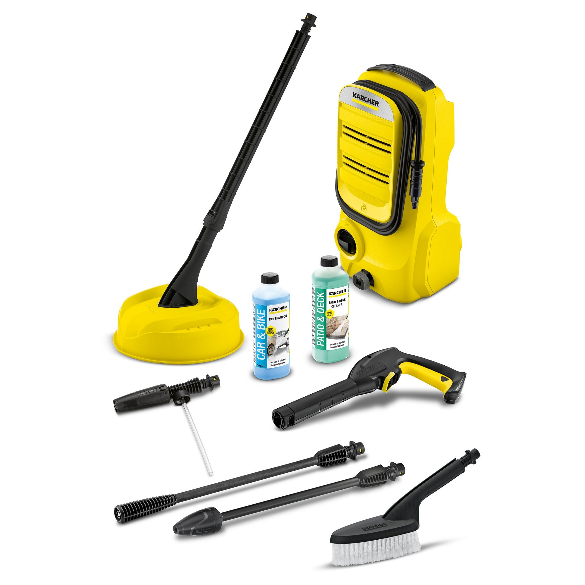 Image of Karcher 1400W K2 Compact Home and Car Pressure Washer