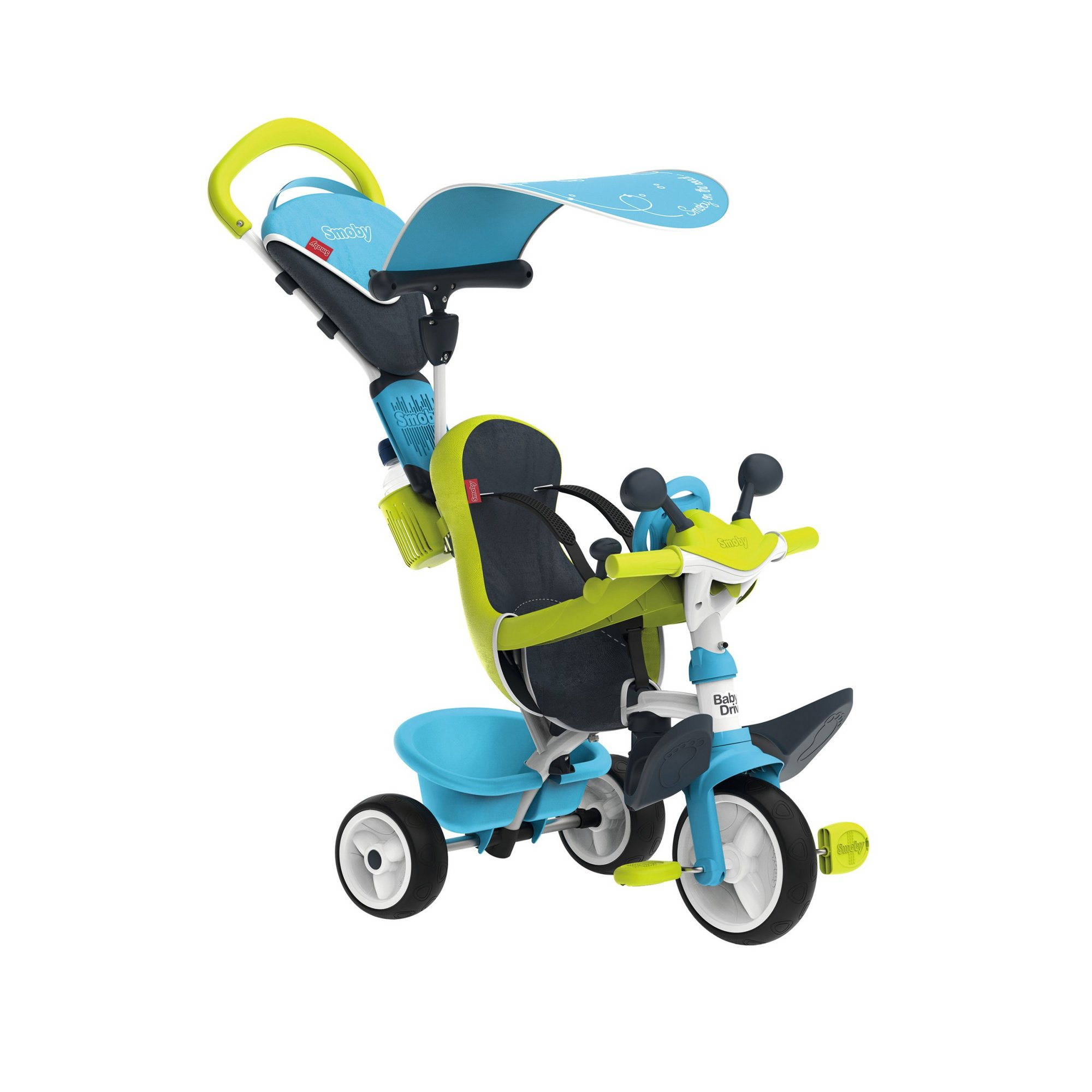 Image of Blue Baby Driver Tricycle