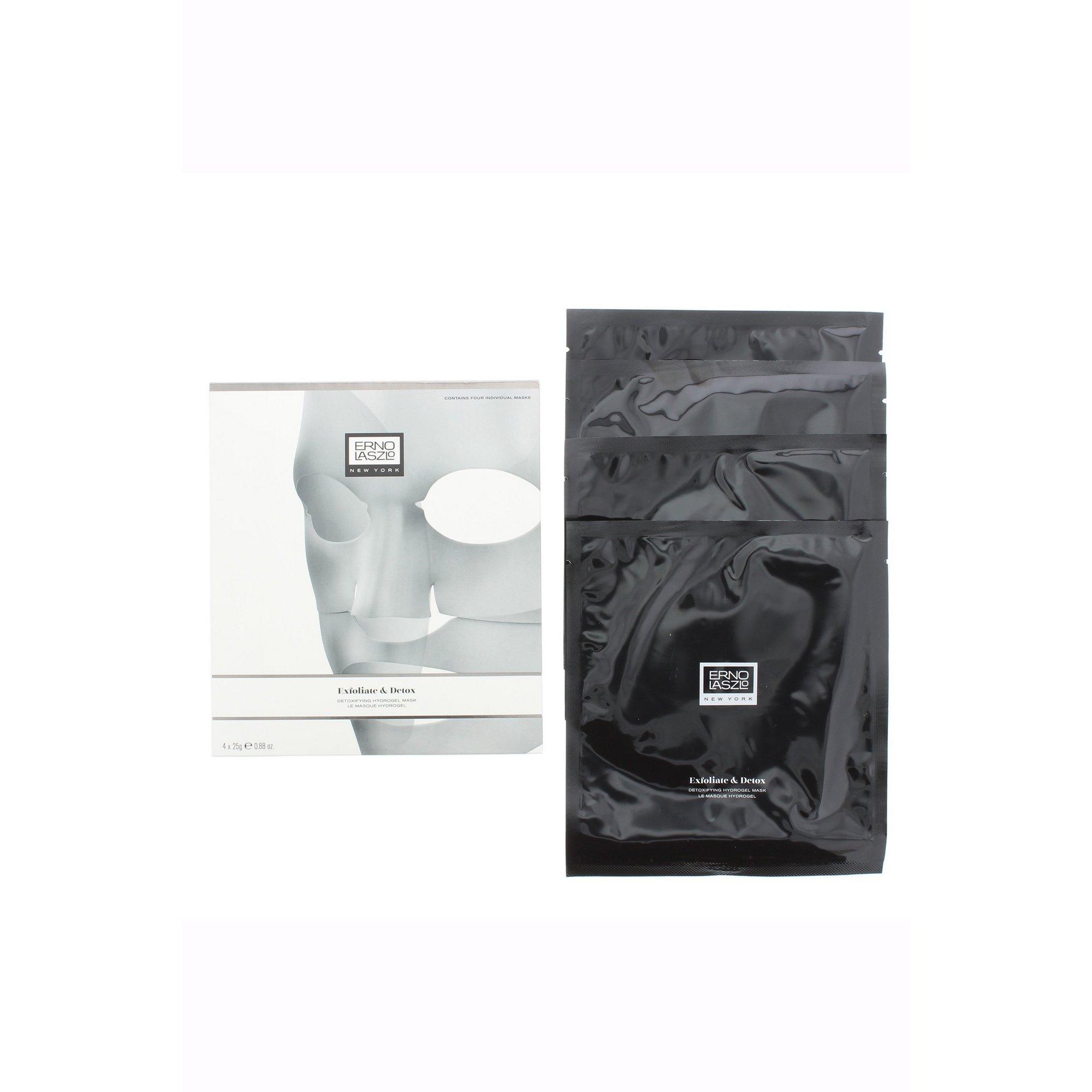 Image of Erno Laszlo Pack of 4 Detoxifying Hydrogel Sheet Masks