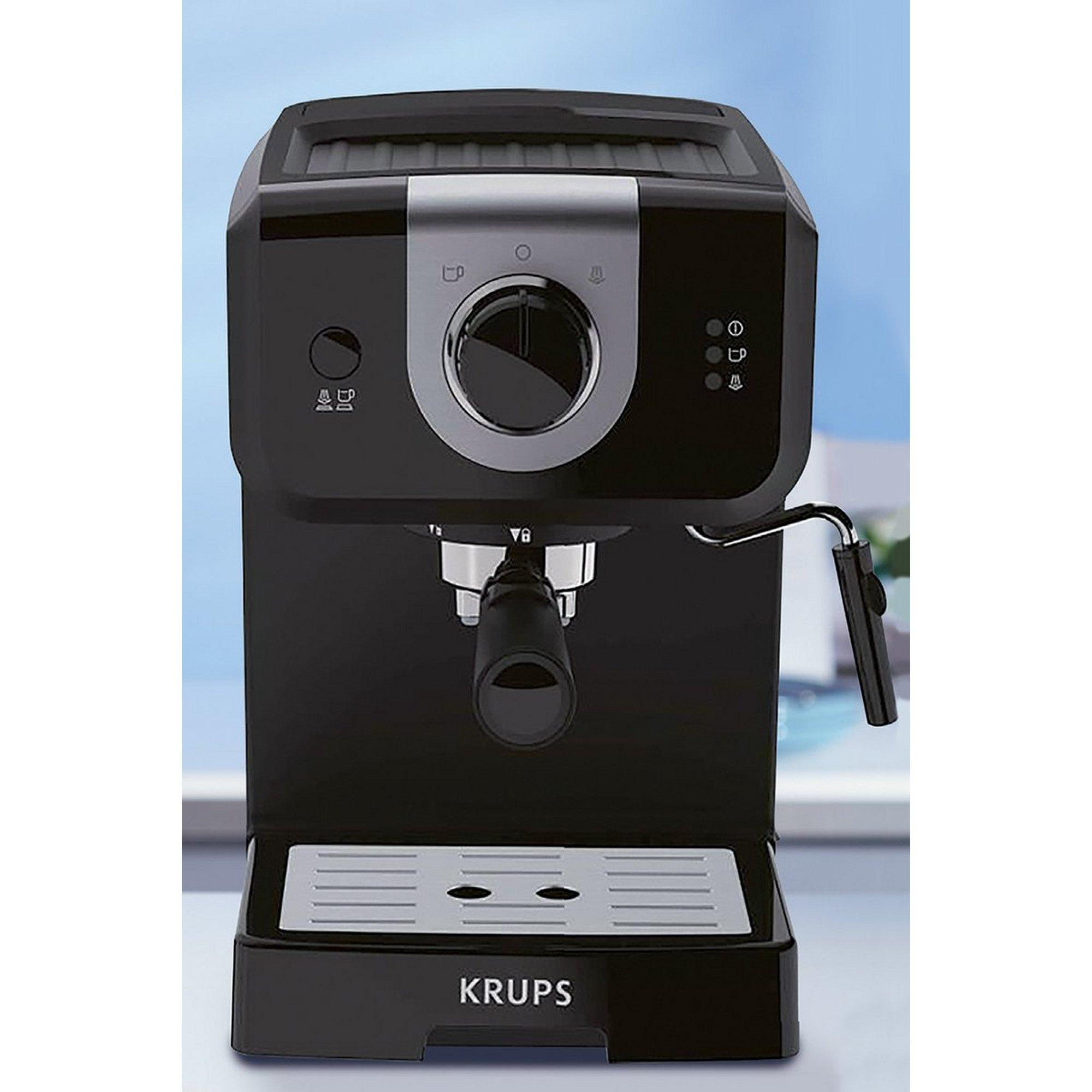 Image of Krups Opio Espresso Steam and Pump Coffee Machine