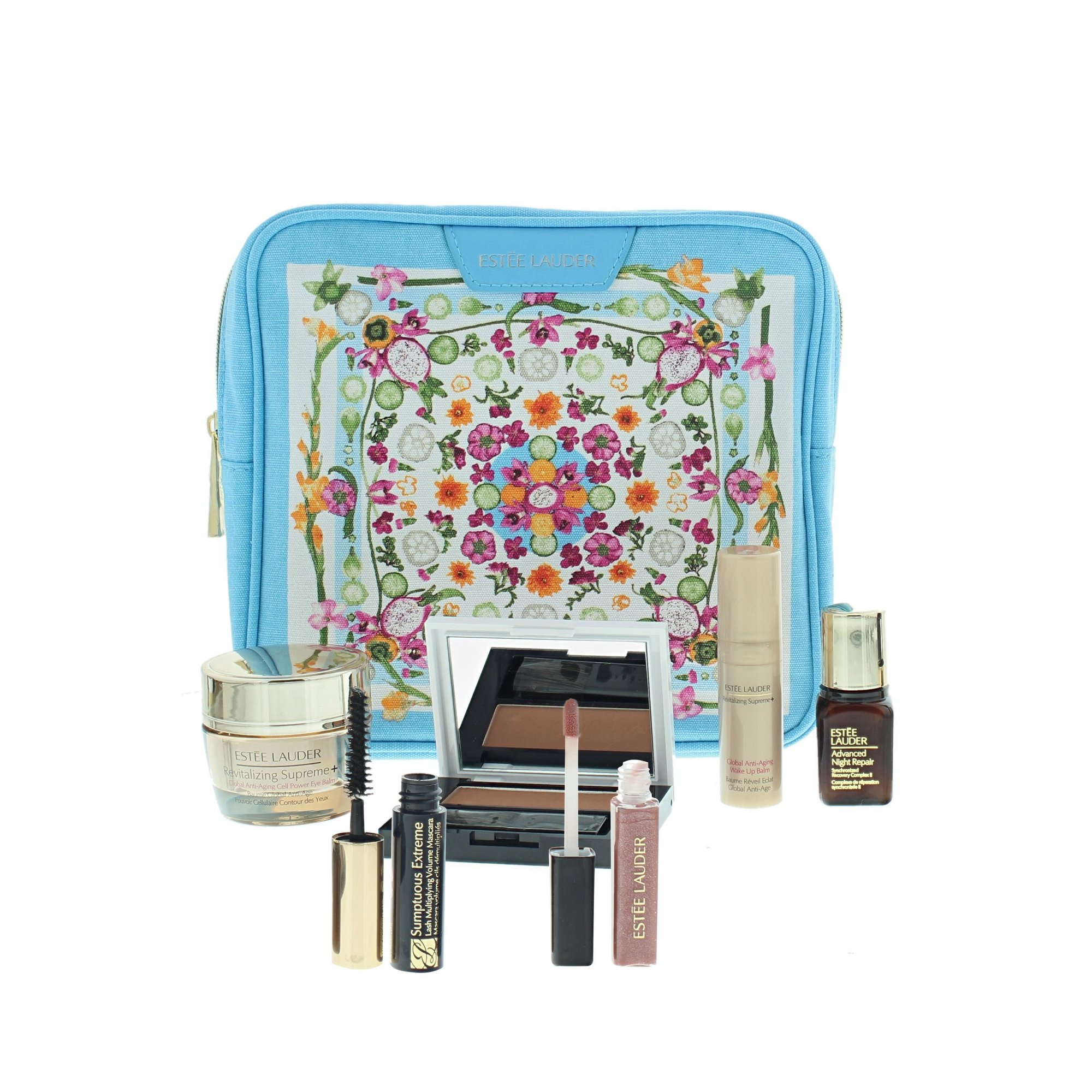 Image of Estee Lauder Glow and Go Cosmetic Set