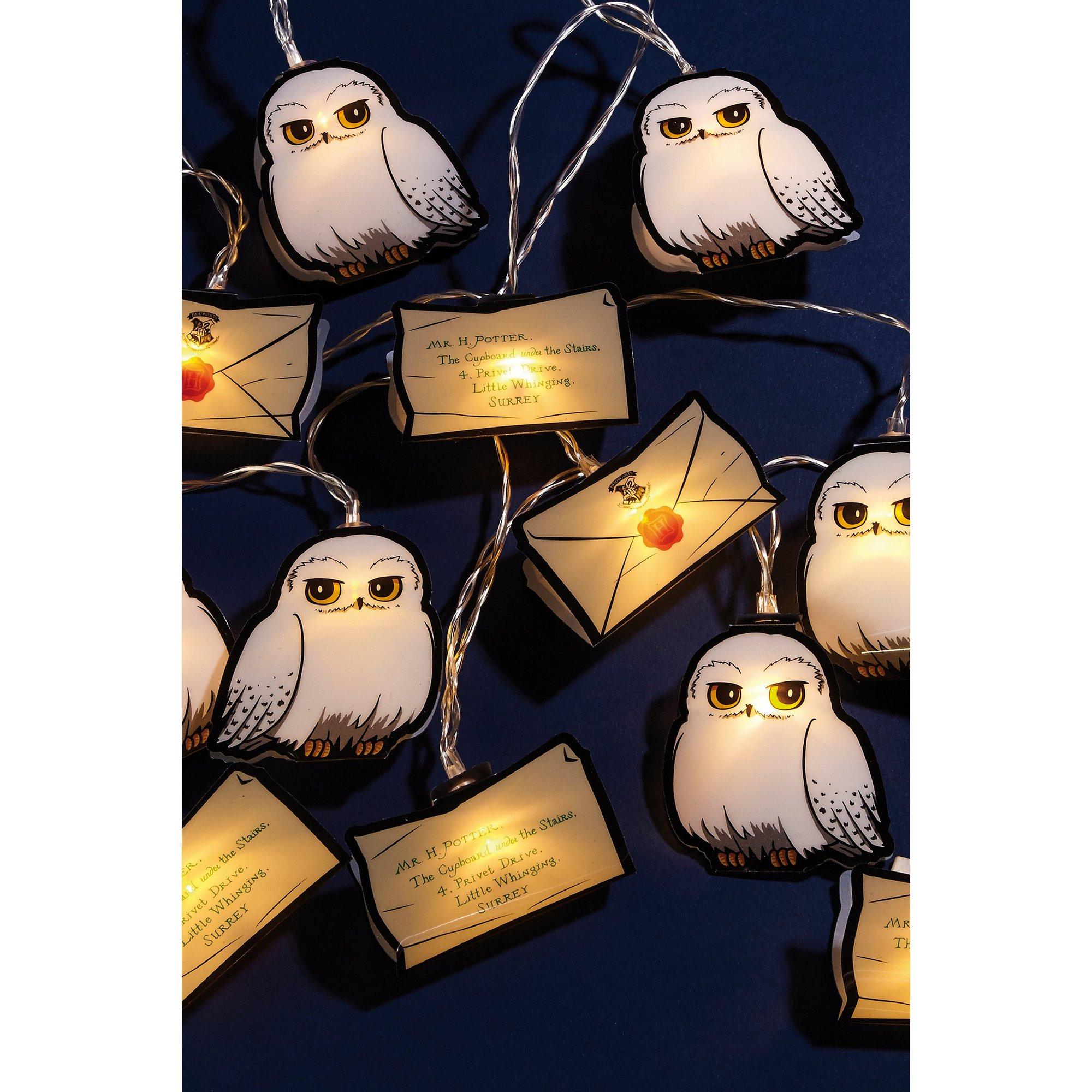 Image of Hedwig and Letter String Lights